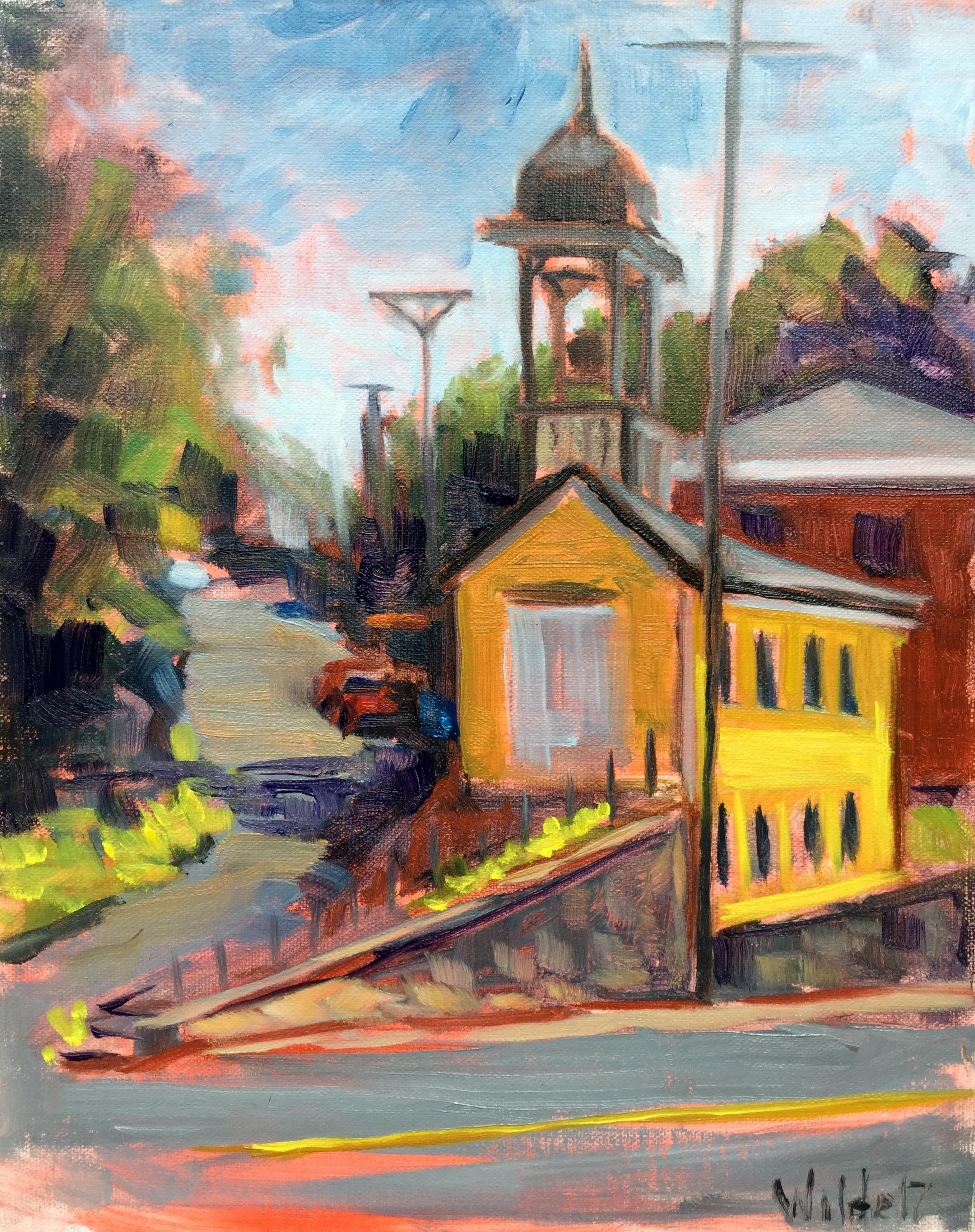 Fire House Yellow • Pamela Wilde