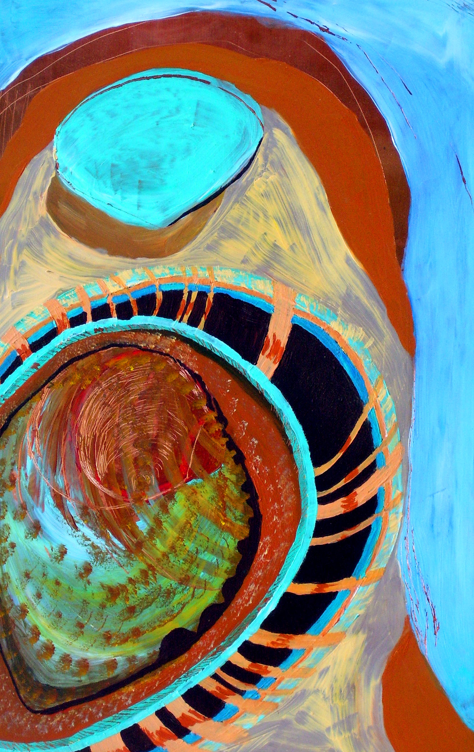 Susan Dorsey_Seashell Abstract
