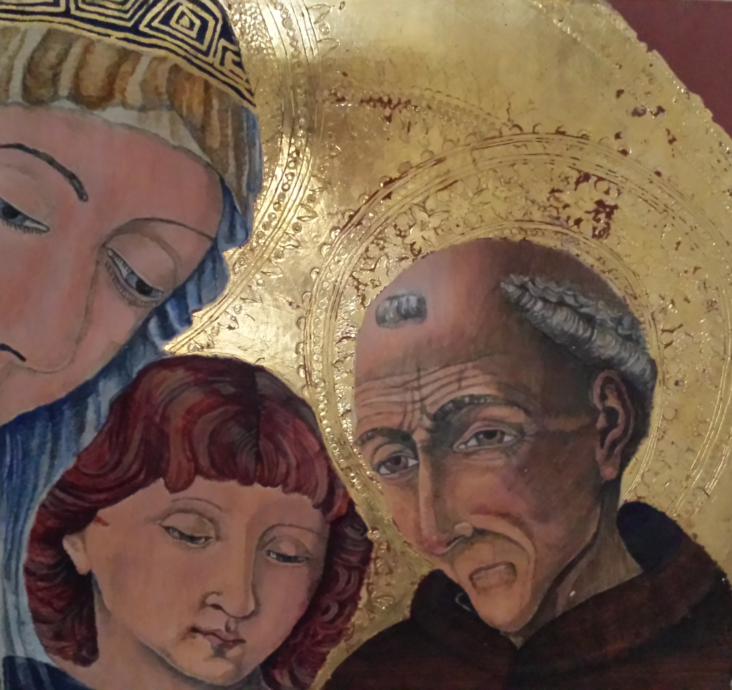 Susan Dorsey_Study of Madonna and Child with Saints and Angels
