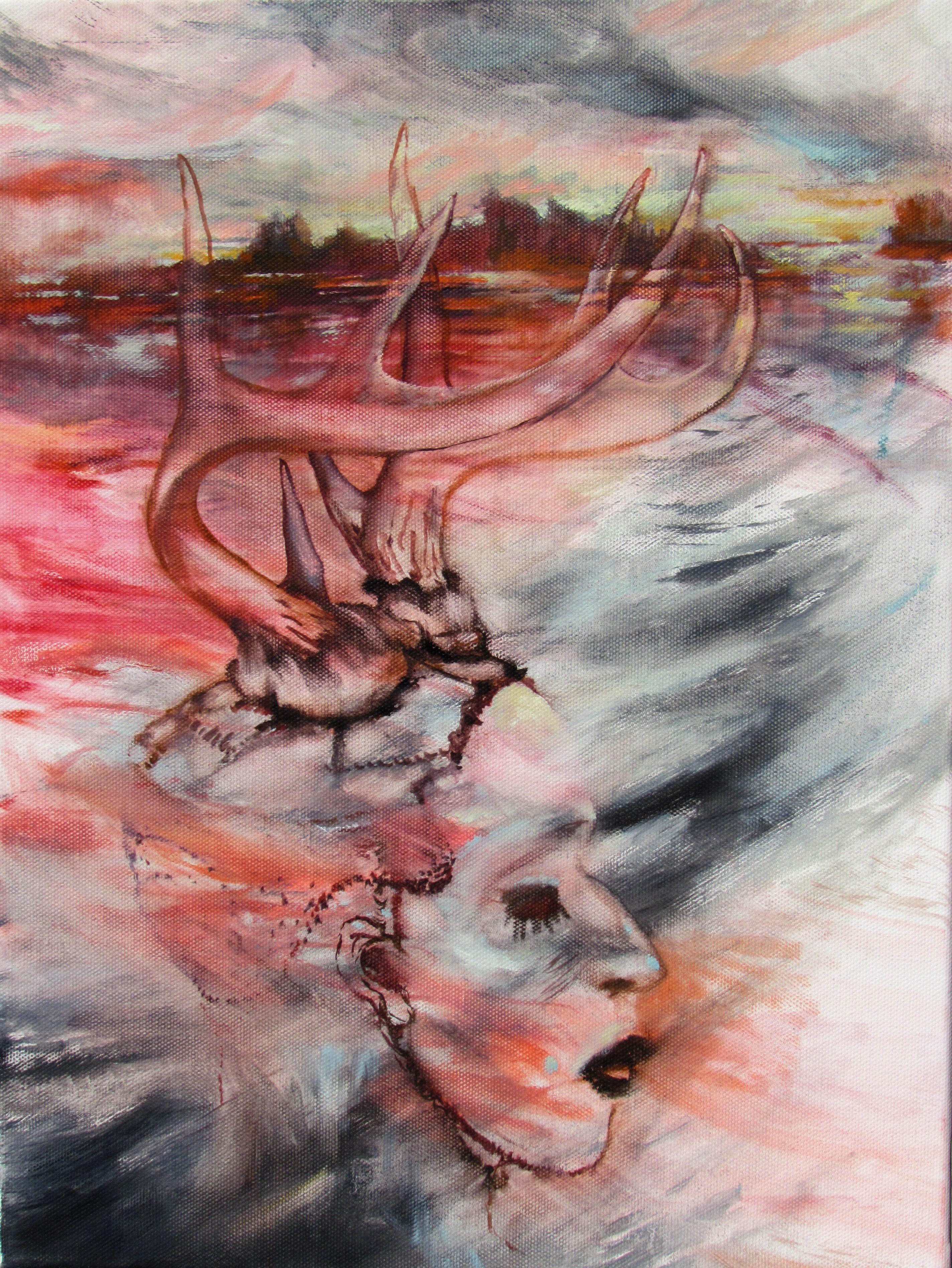 spirits underwater, oil