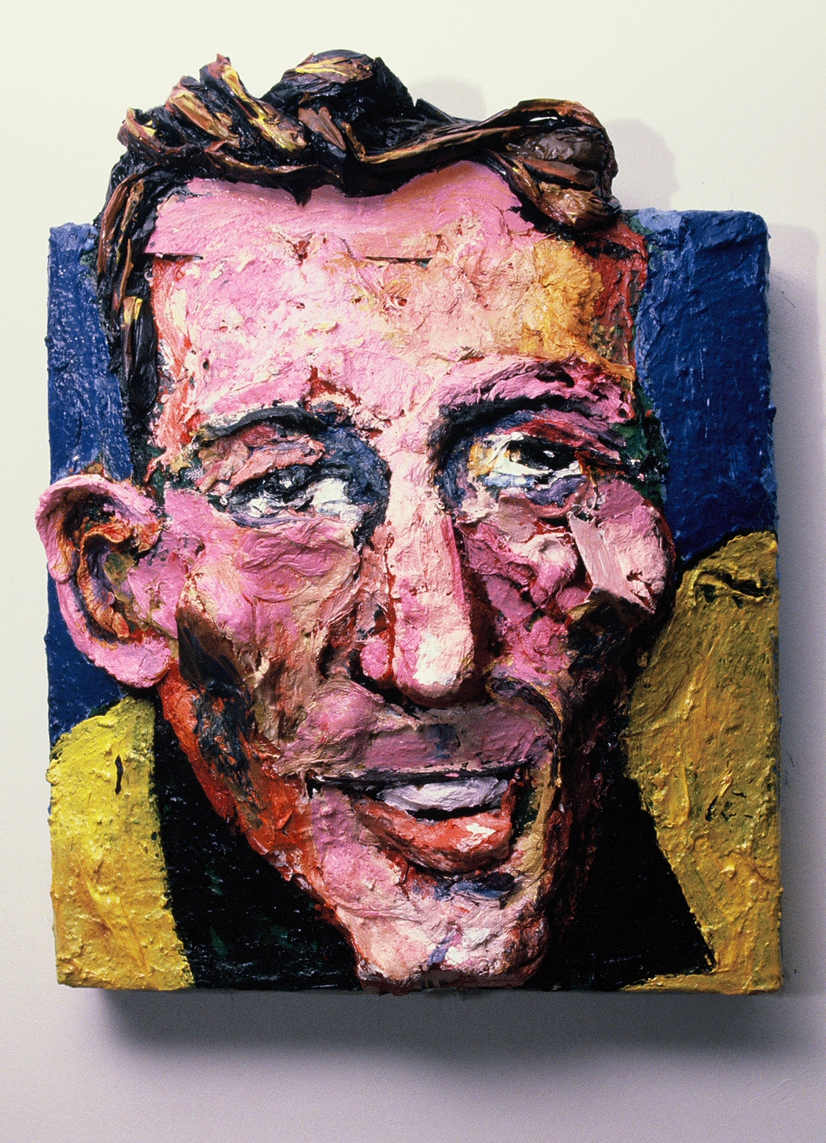 Built-Out Portrait of Carl Pekins by Artist Brett Stuart Wilson
