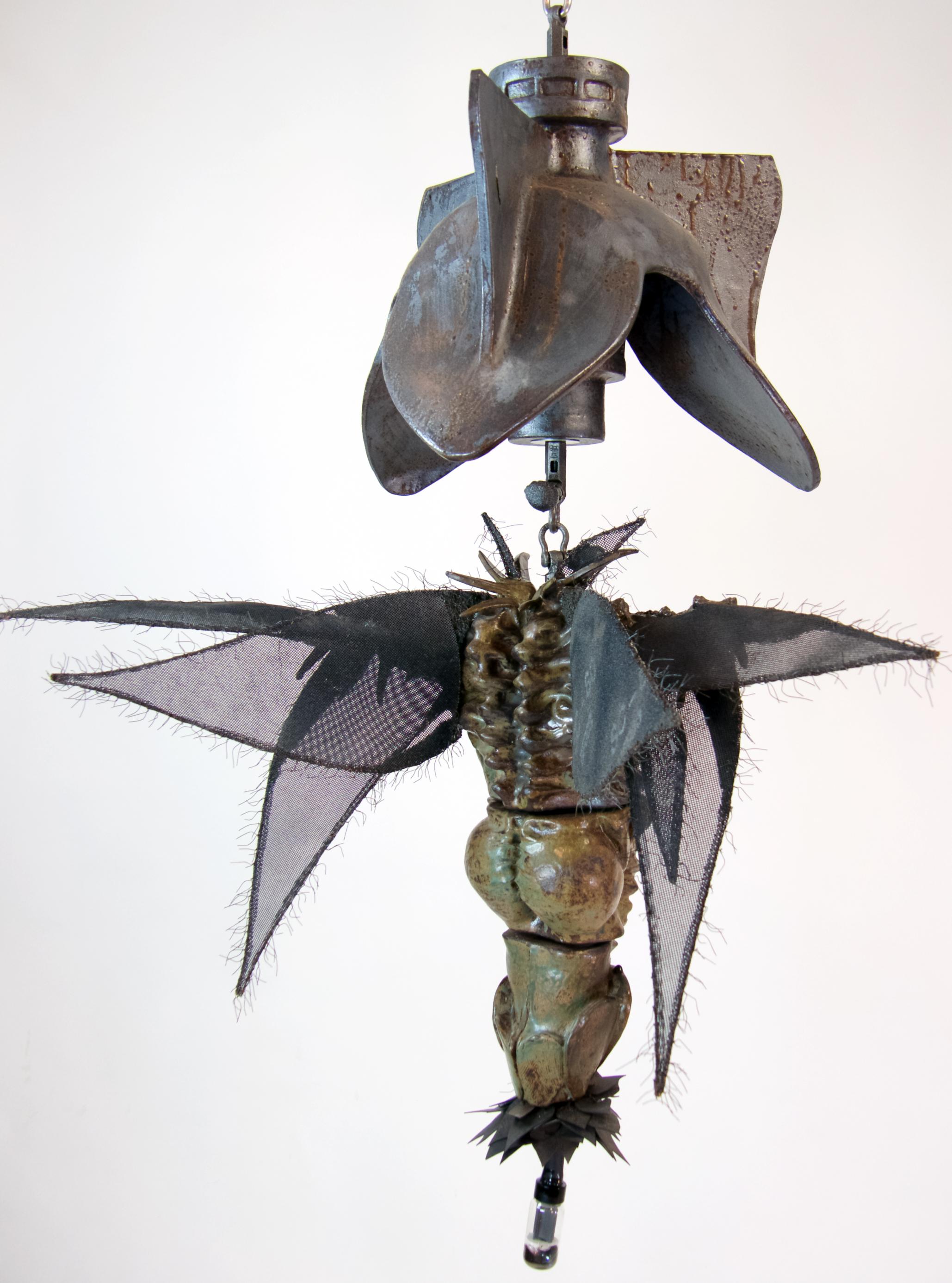 sculpture, ceramic, environment, science