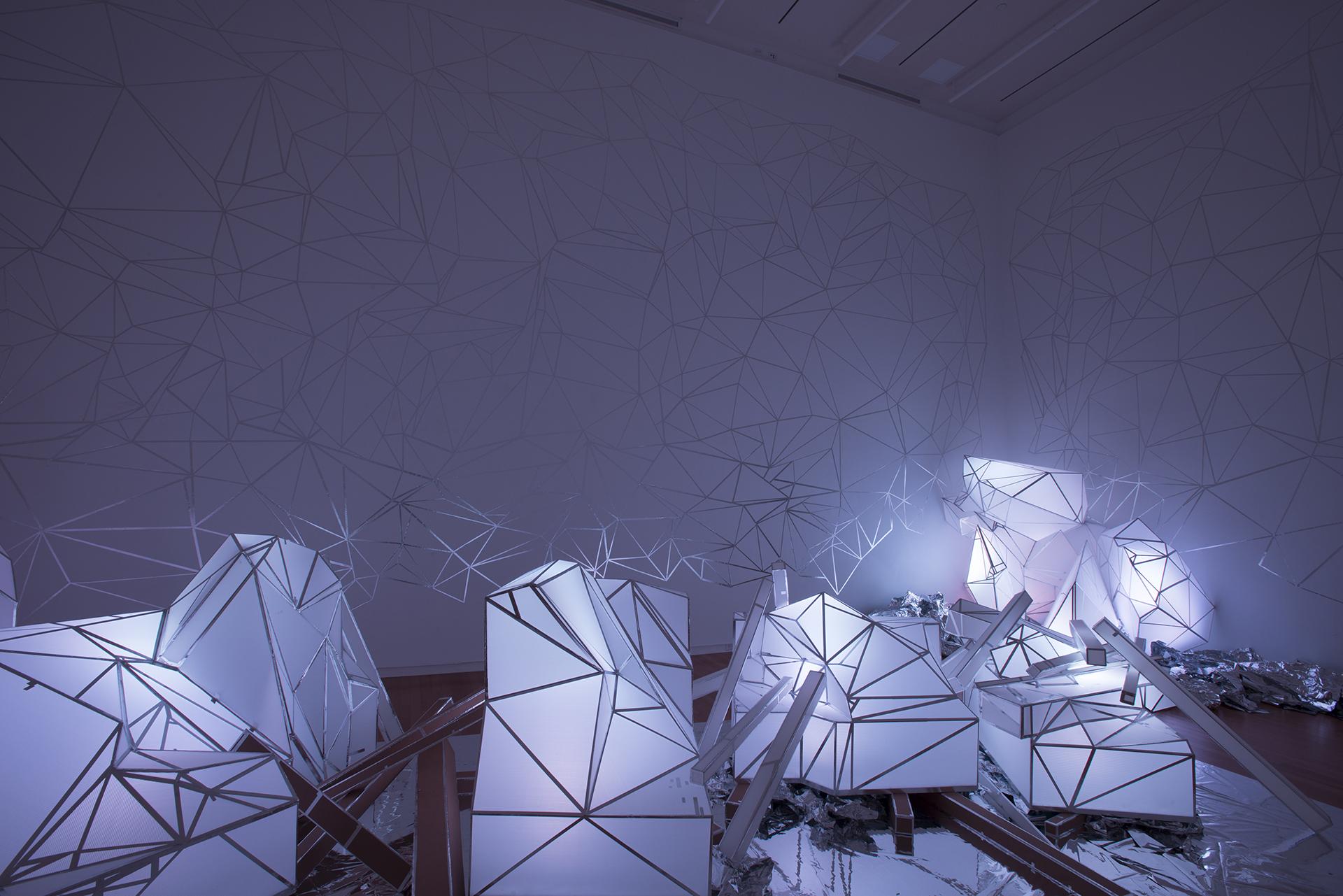 VOID (2015) by Stephen Hendee, sculpture installation