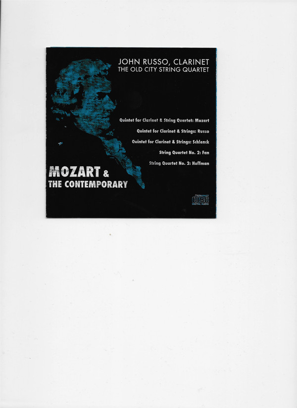 """Mozart & The Contemporary (CRS CD 1191) features my """"String Quartet #No. 2"""" performed by the Dover String Quartet"""