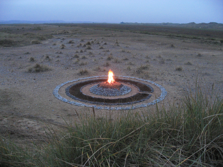 stone circle, henge, earth art, land art, flint