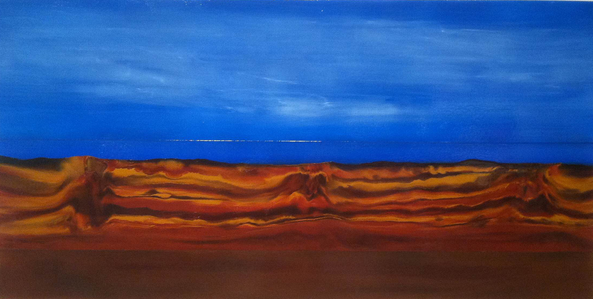 #oilpainting,#landscape,#abstraction,#southwest
