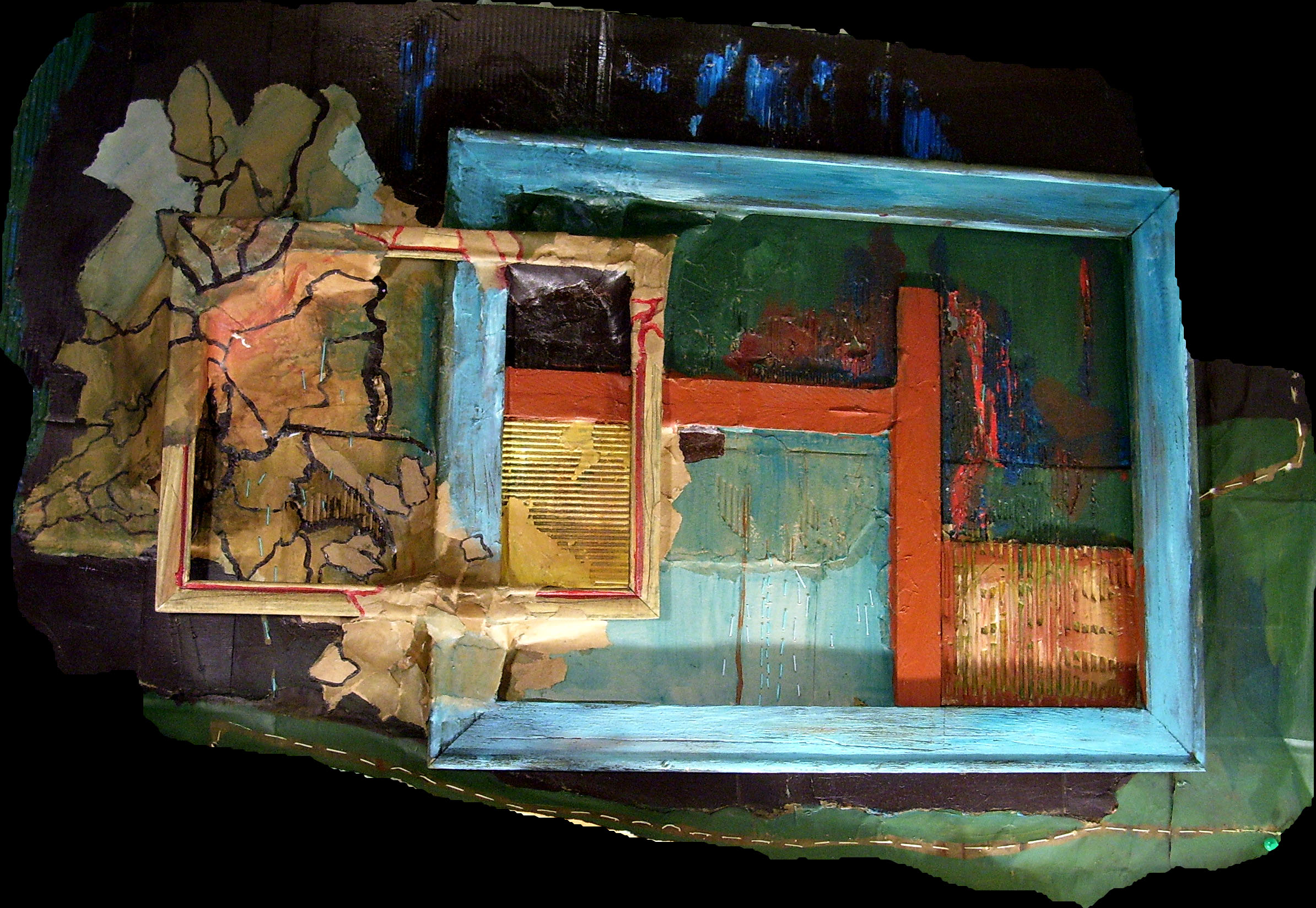 Susan Dorsey_Frame Sculpture