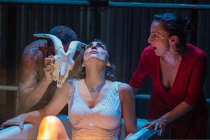 """""""YERMA obra de FEDERICO GARCIA LORCA con version de Fernando J Lopez se estreno en el Teatro Gala Hispanic Theatre en Septiembre del 2015. YERMA es una mujer casada que no consigue quedarse embarazada. Este es el tema central de la obra, pero YERMA habla."""