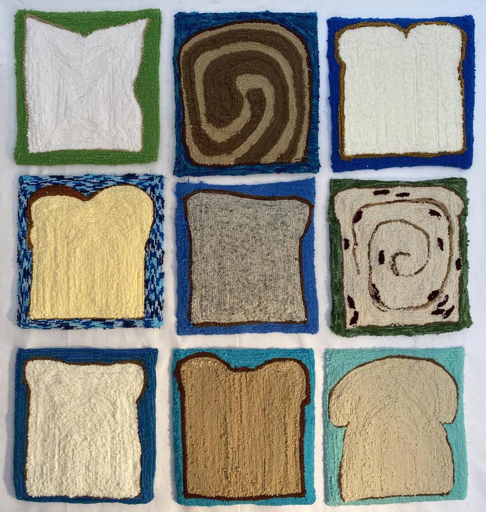 #susiebrandt #textile #tufting #craft
