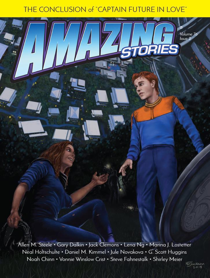 """""""Amazing Stories"""" Winter 2018 contains Vonnie's story, """"A Horse and he Boy."""""""
