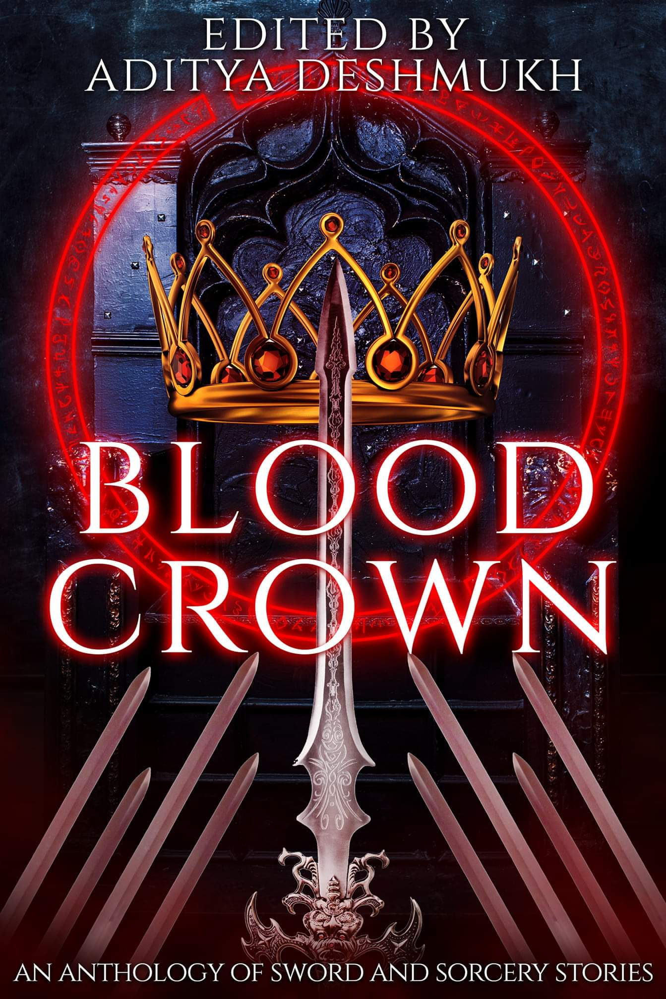 """""""Blood Crown"""" contains Vonnie's story, """"Blood-Soaked Biscuits."""""""