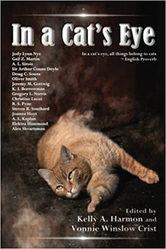 """""""In a Cat's Eye"""" edited by Vonnie Winslow Crist and Kelly Harmon."""