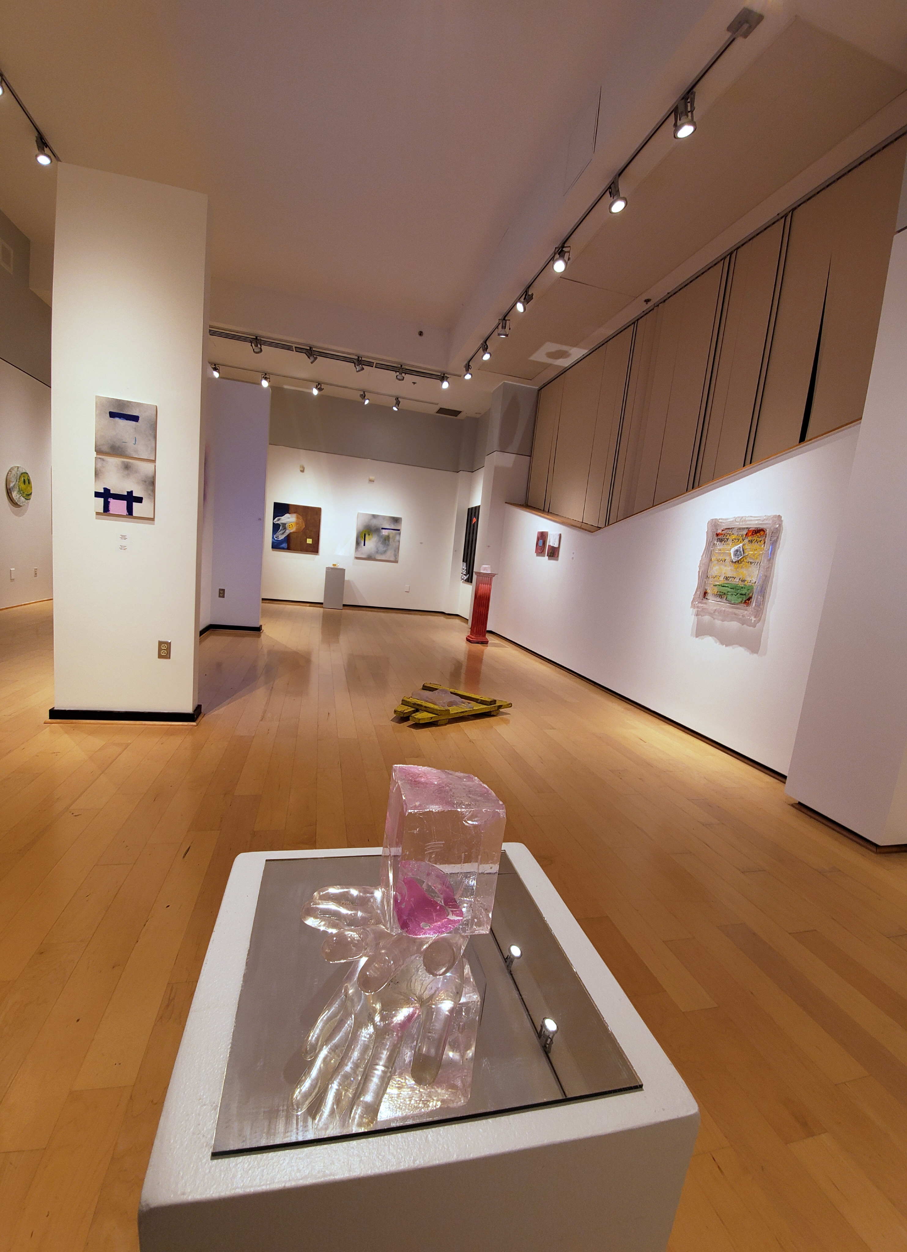 """Installations views of select works from """"Masquerade"""""""