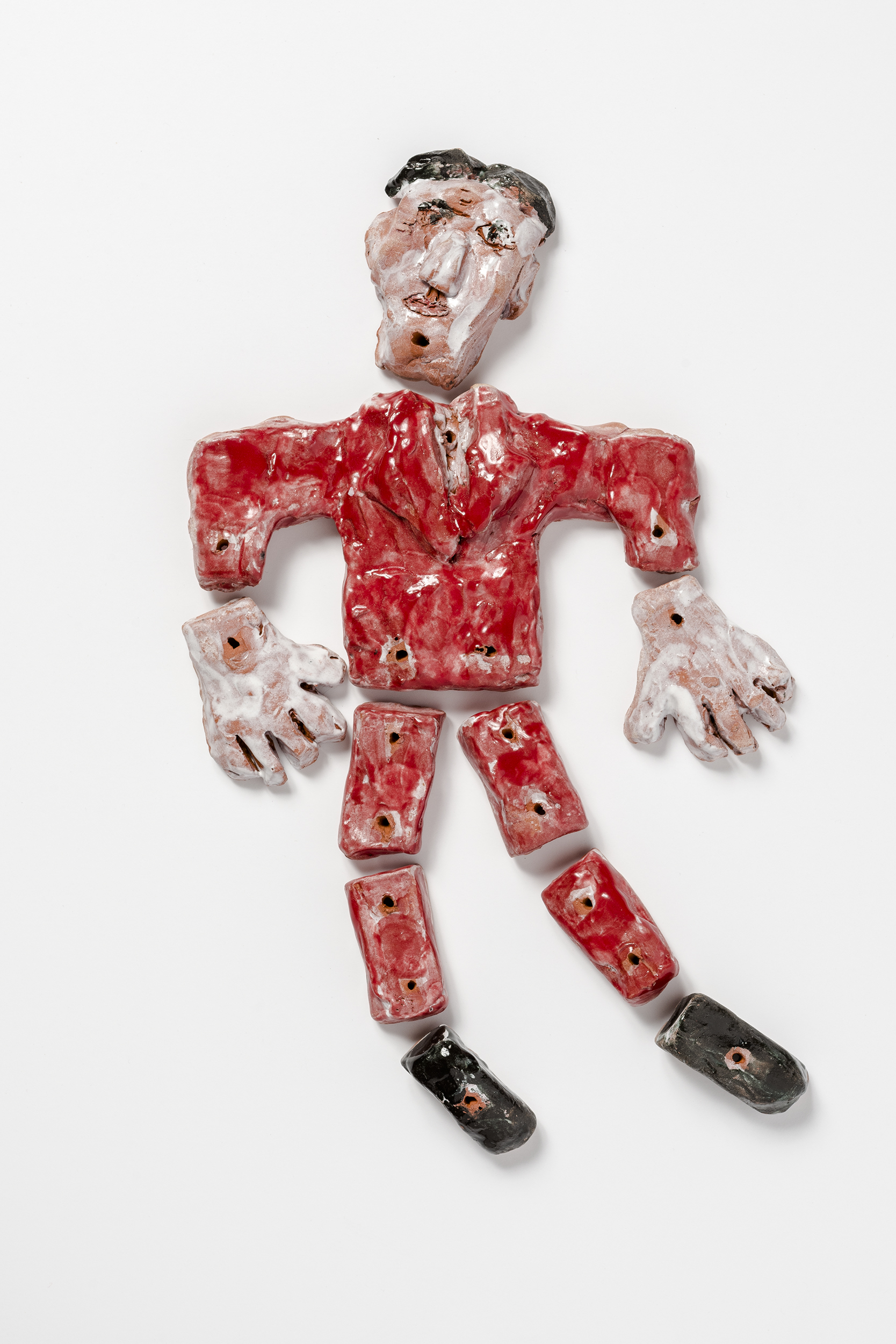 Puppet Man with Red Jacket