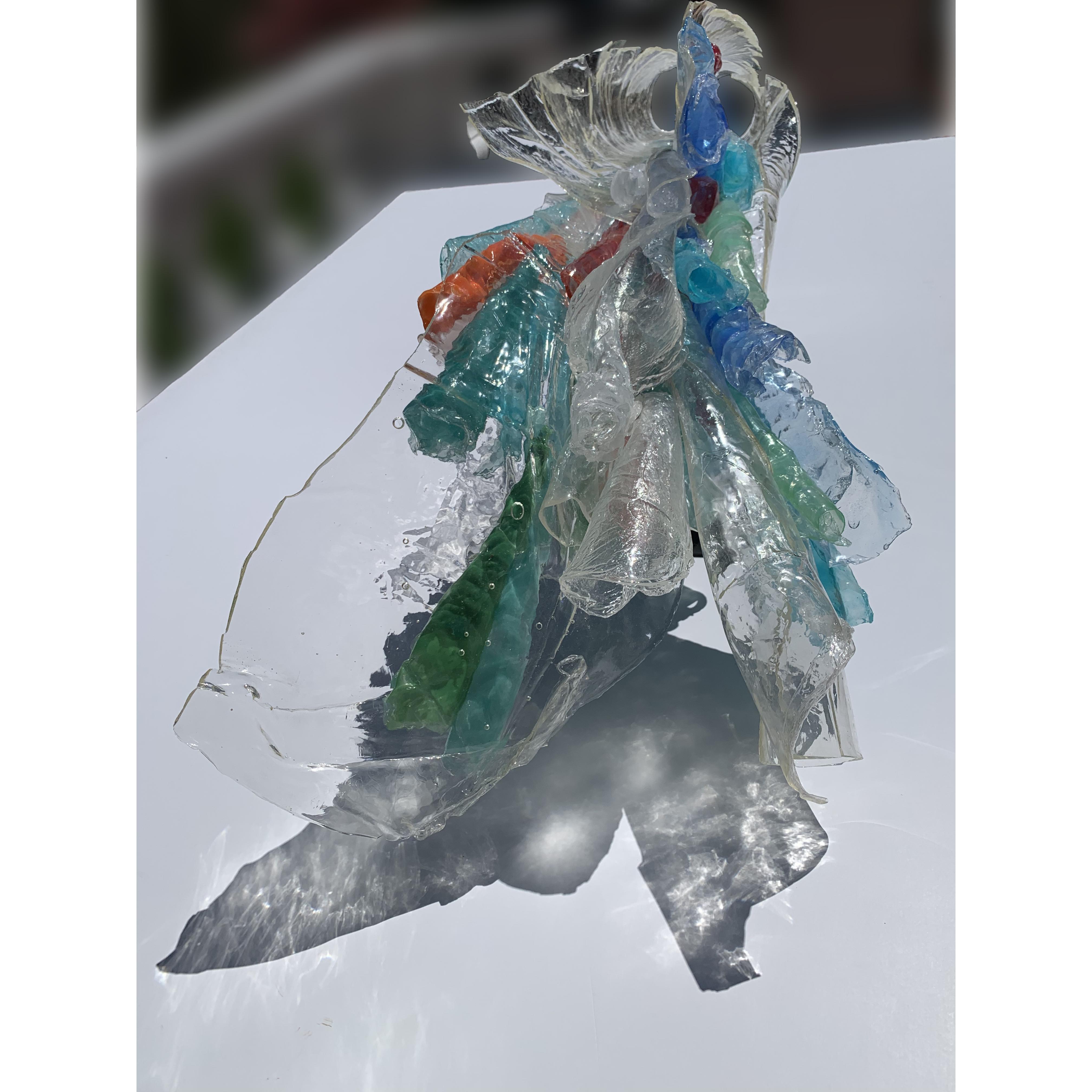 resin sculpture by Farida Hughes