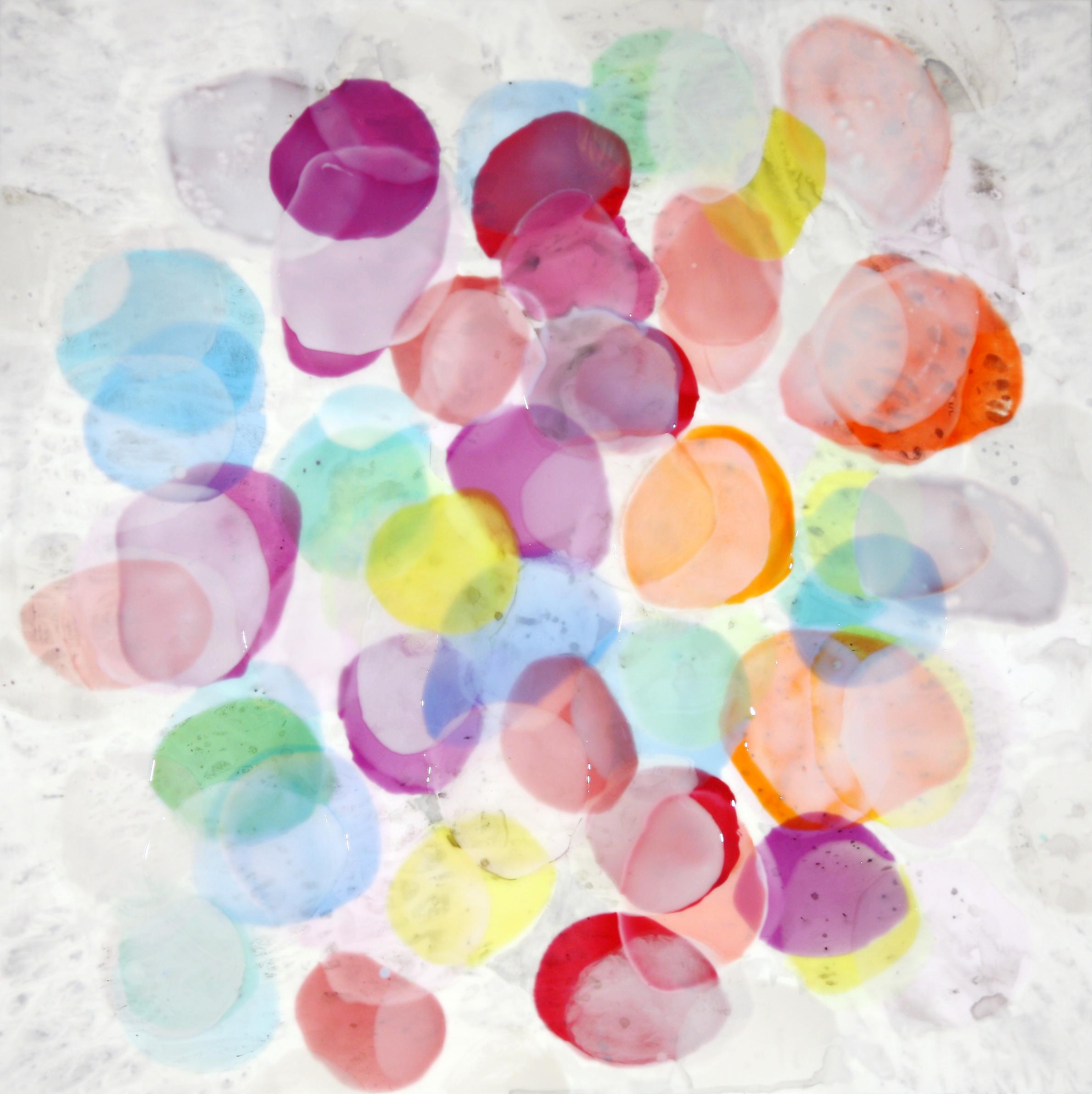 Abstract painting by Farida Hughes