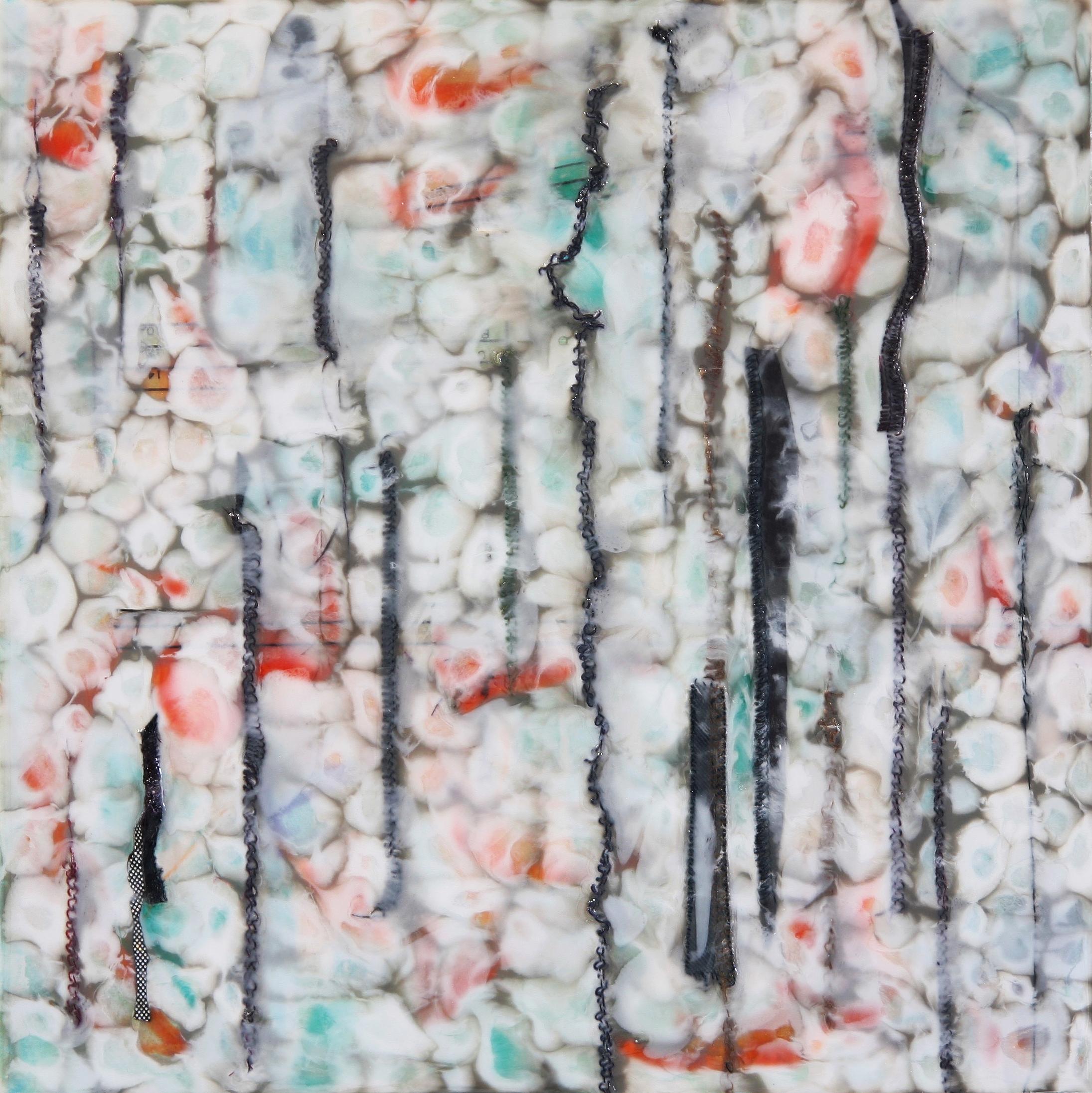 mixed media painting by Farida Hughes