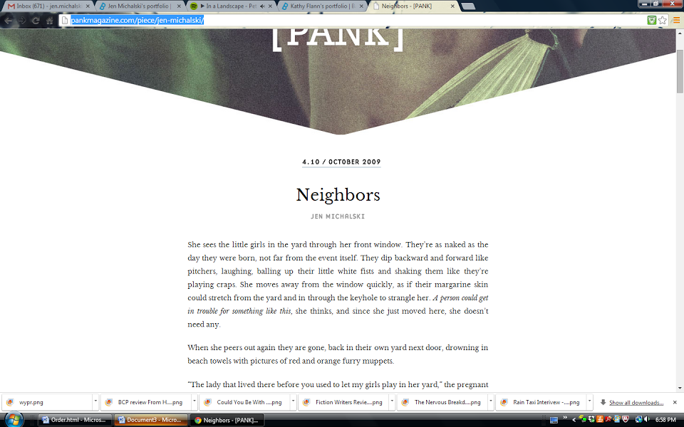 """""""Neighbors,"""" story in From Here"""