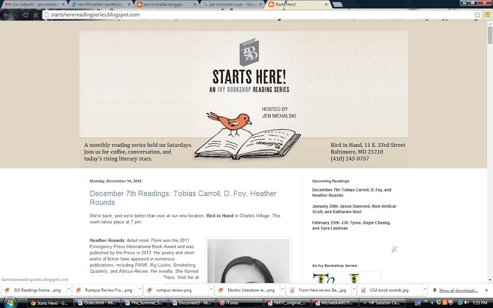Starts Here! homepage