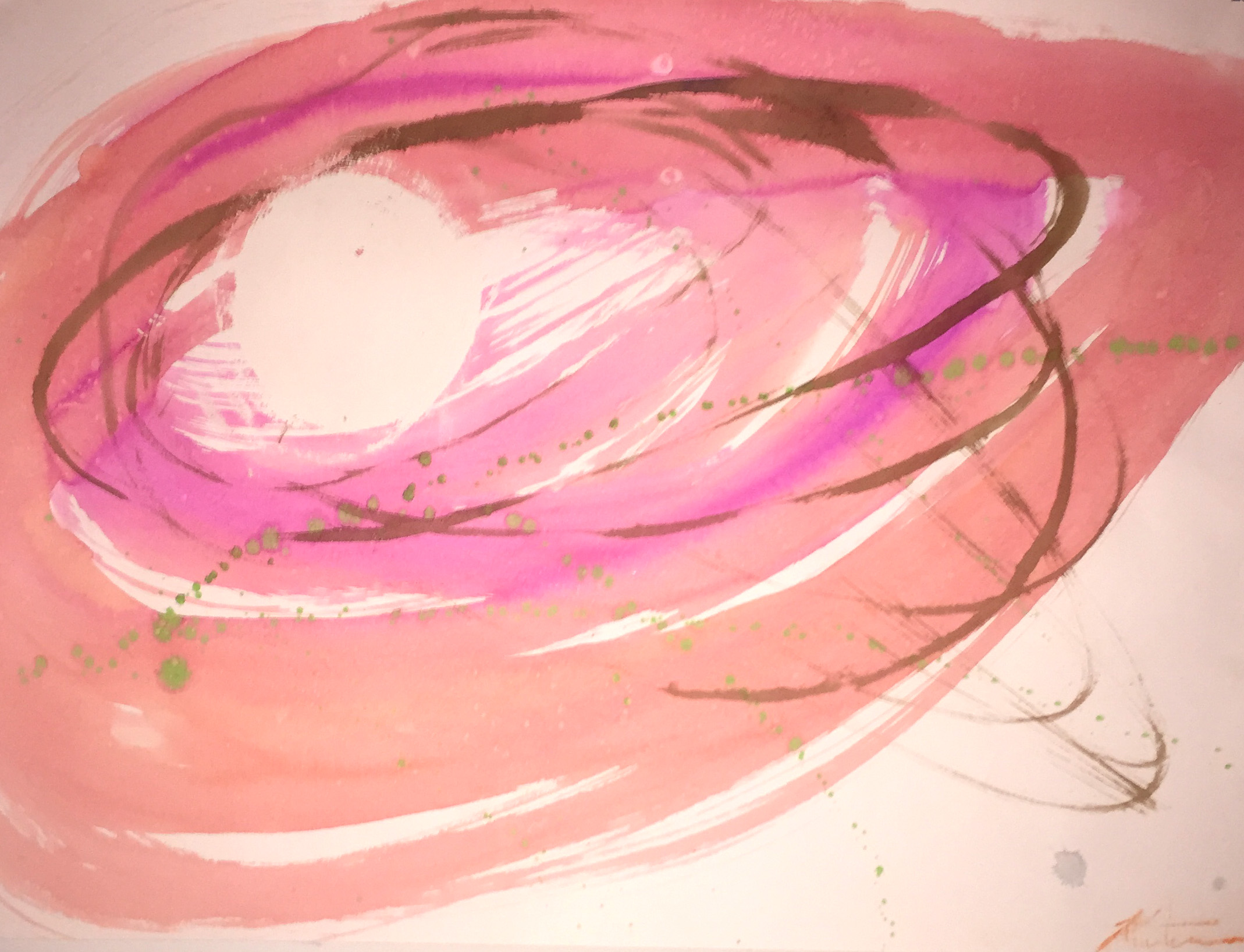 Aerial,watercolor,abstract,motion
