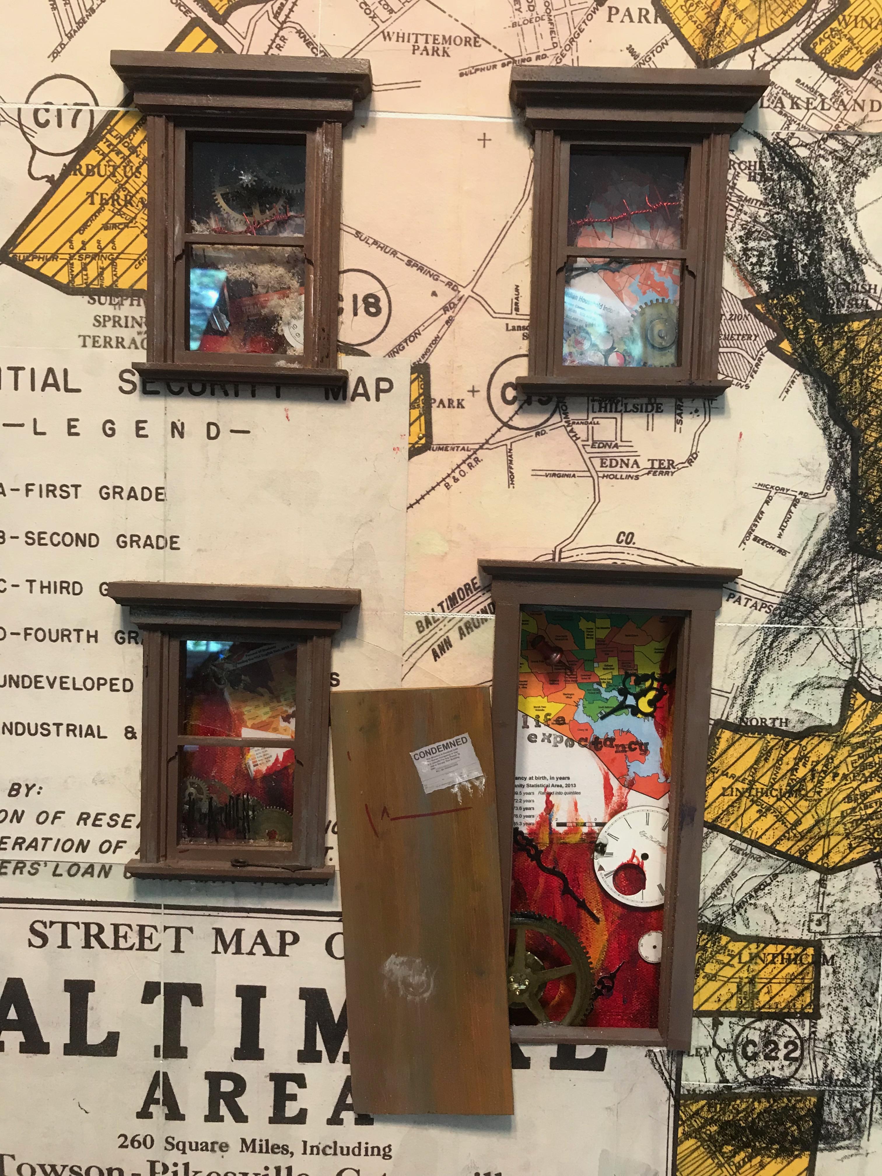 Detail assemblage Redlinined Ken Katzen