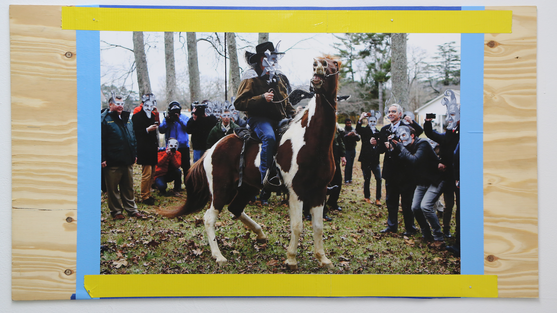 Pissed.  Installation. Mardi Gras. Interactive