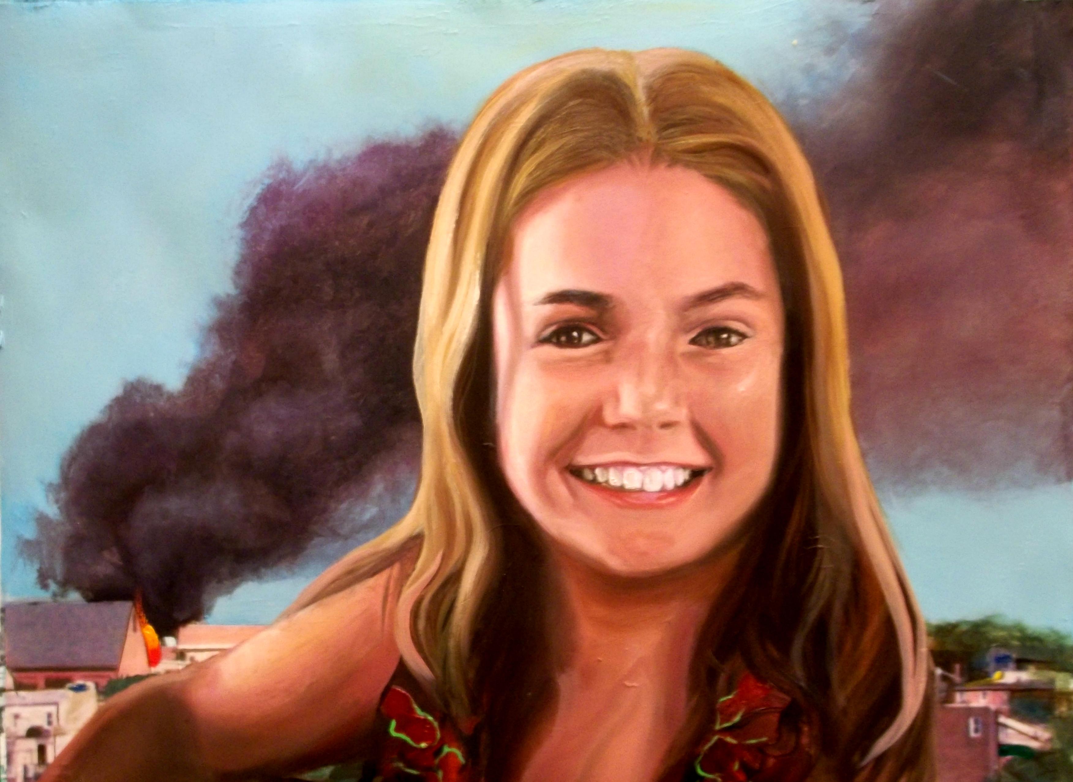 metamodern postmodern portrait oil painting works on paper baltimore