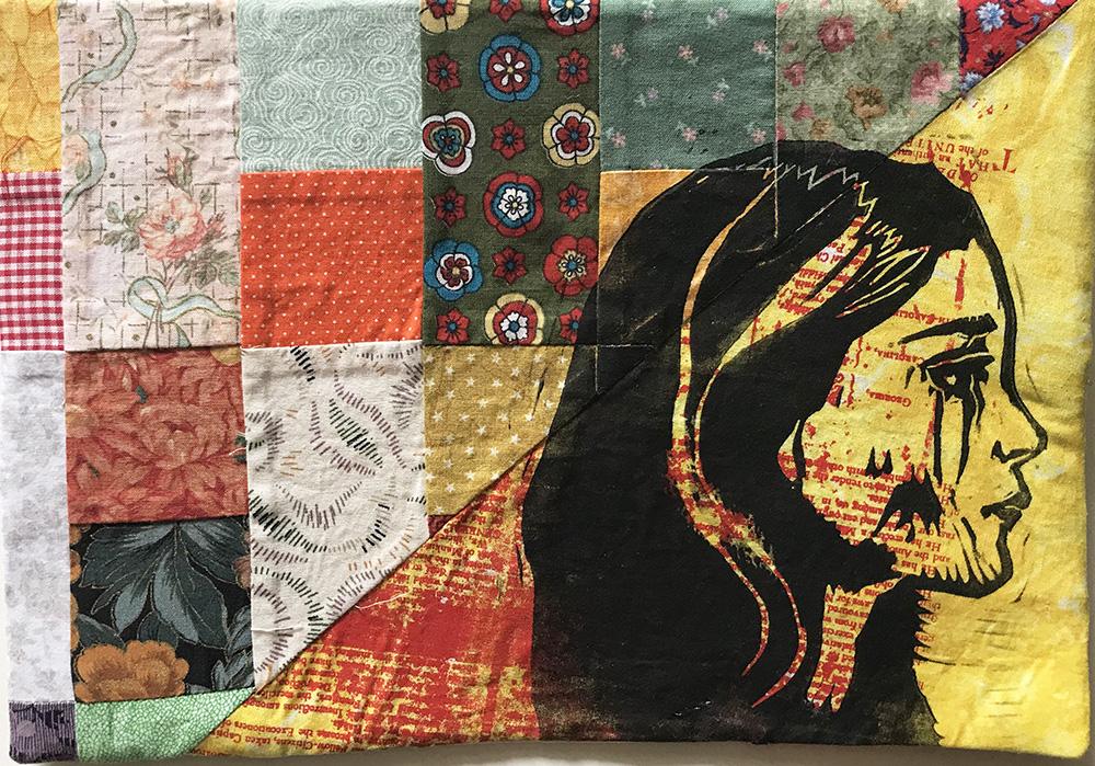 Shakespeare Sonnets, book arts, textile art