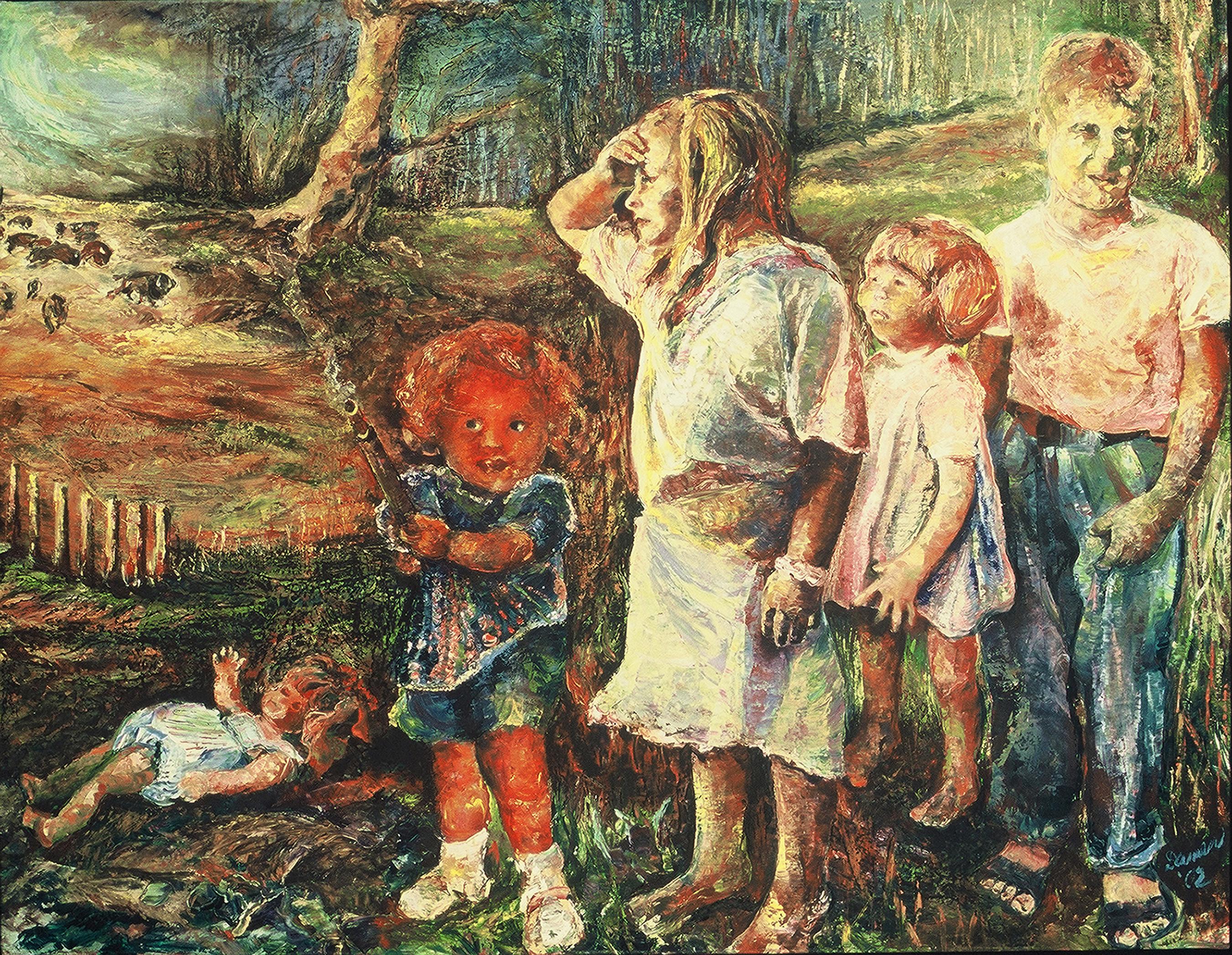 September 11, 2001, painting, poetry, children, archetypes