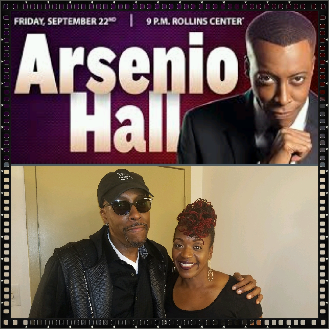ARSENIO HALL and MESHELLE at the Dover Downs Casino for 1 Night Only!