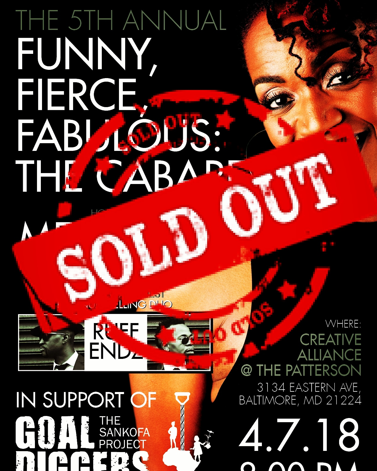 Funny, Fierce, Fabulous: THE CABARET [SOLD OUT] @ Creative Alliance