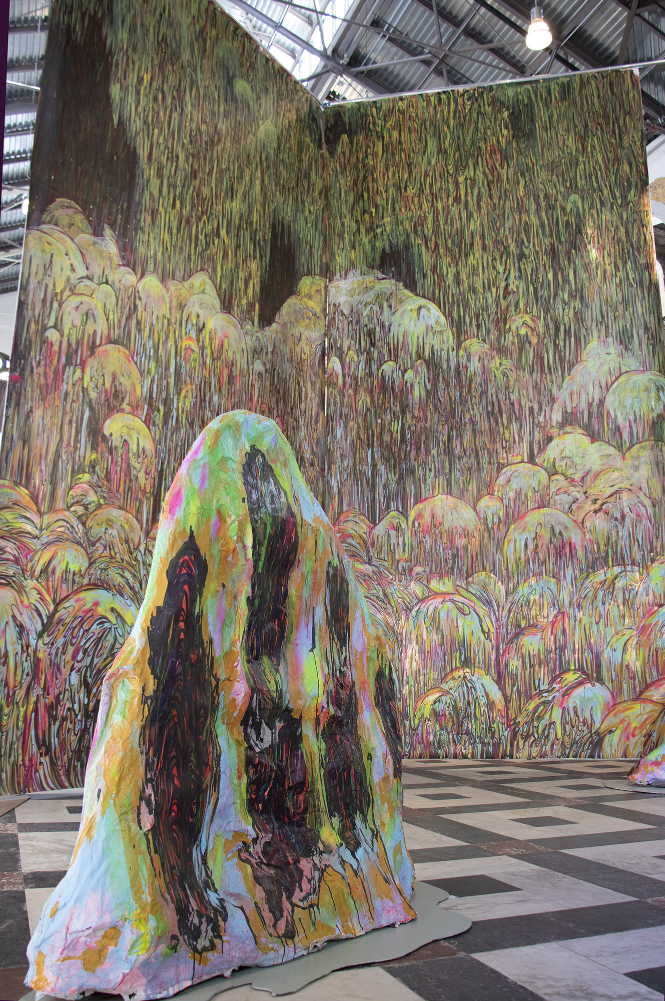 sculpture, installation, painting