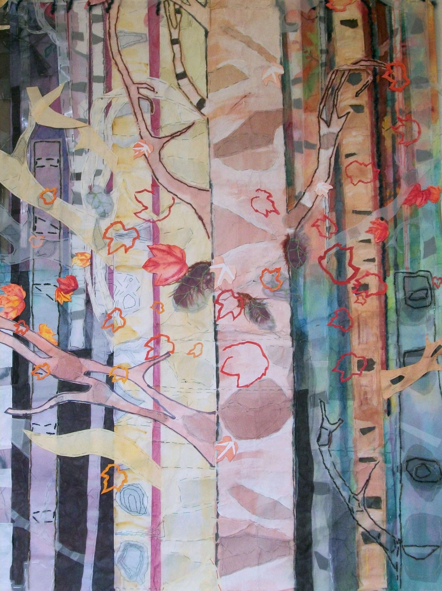 Susan Dorsey_Birch Trees