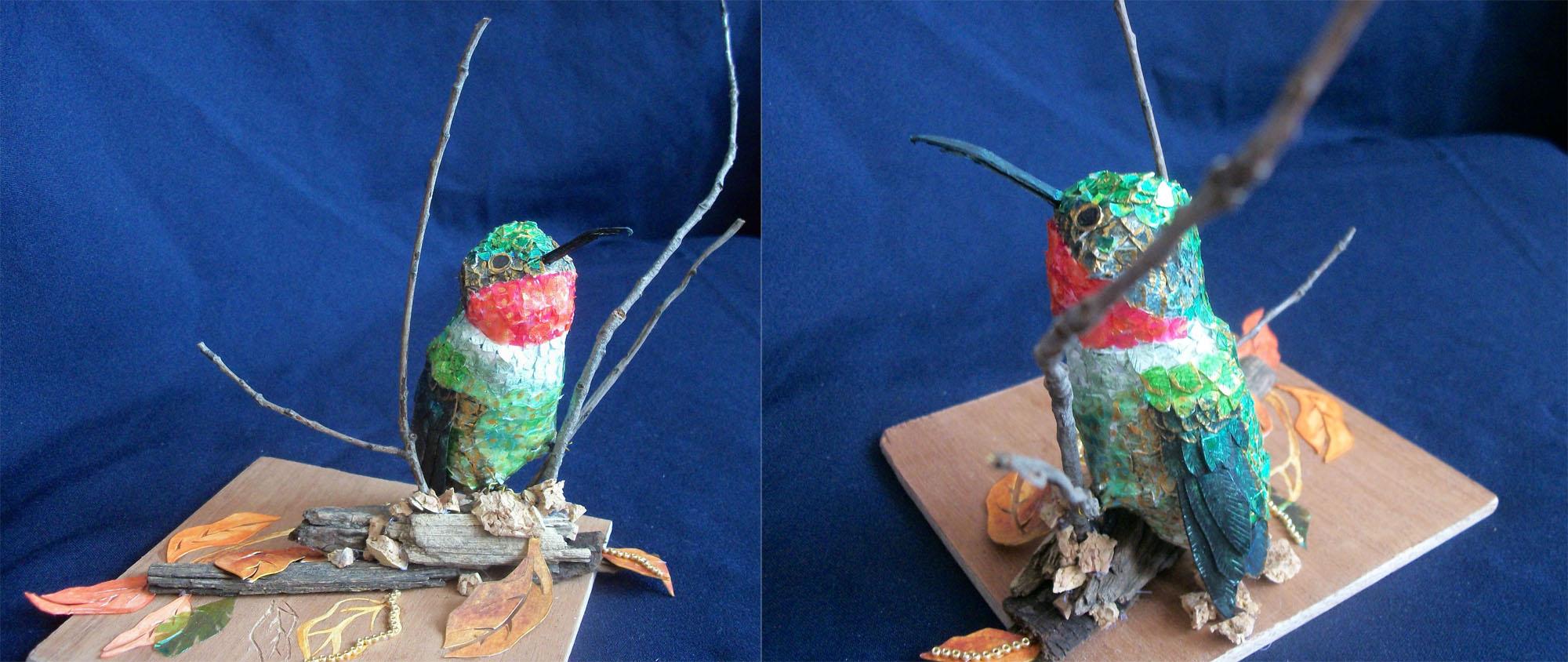 Susan Dorsey_Male Ruby-throated Hummingbird
