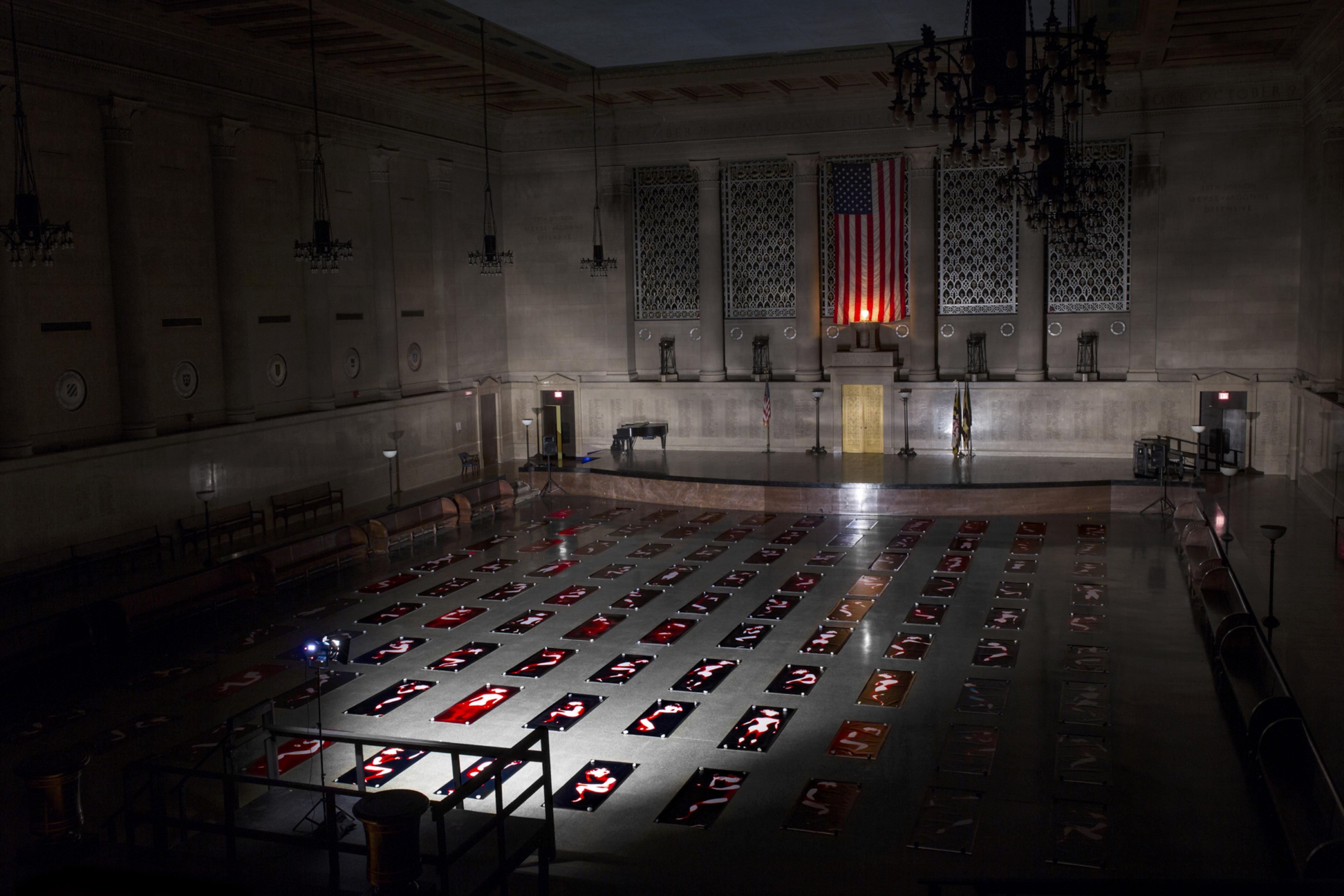 Afterimage Requiem installation view