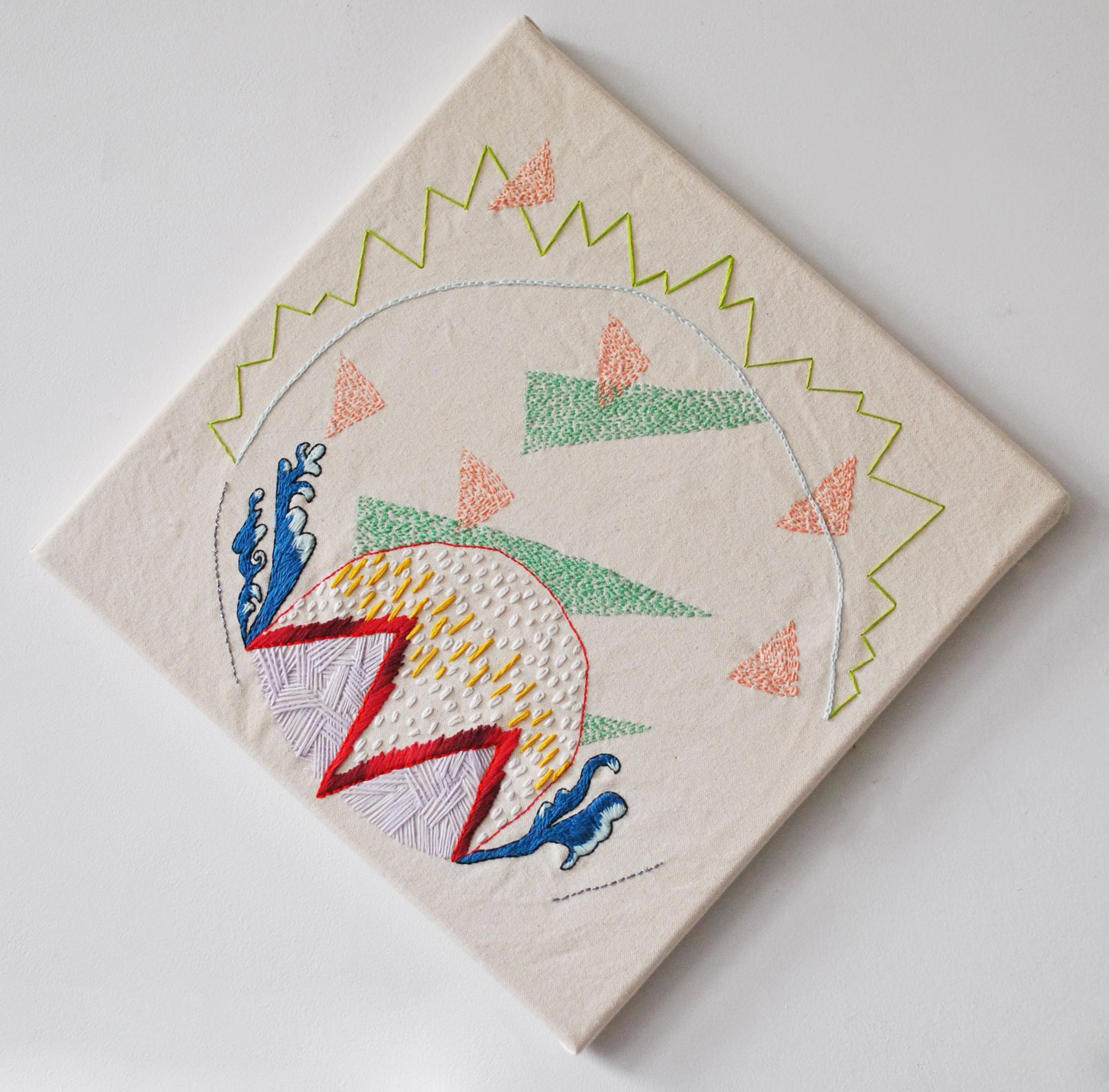 embroidery, fiber, fibers art
