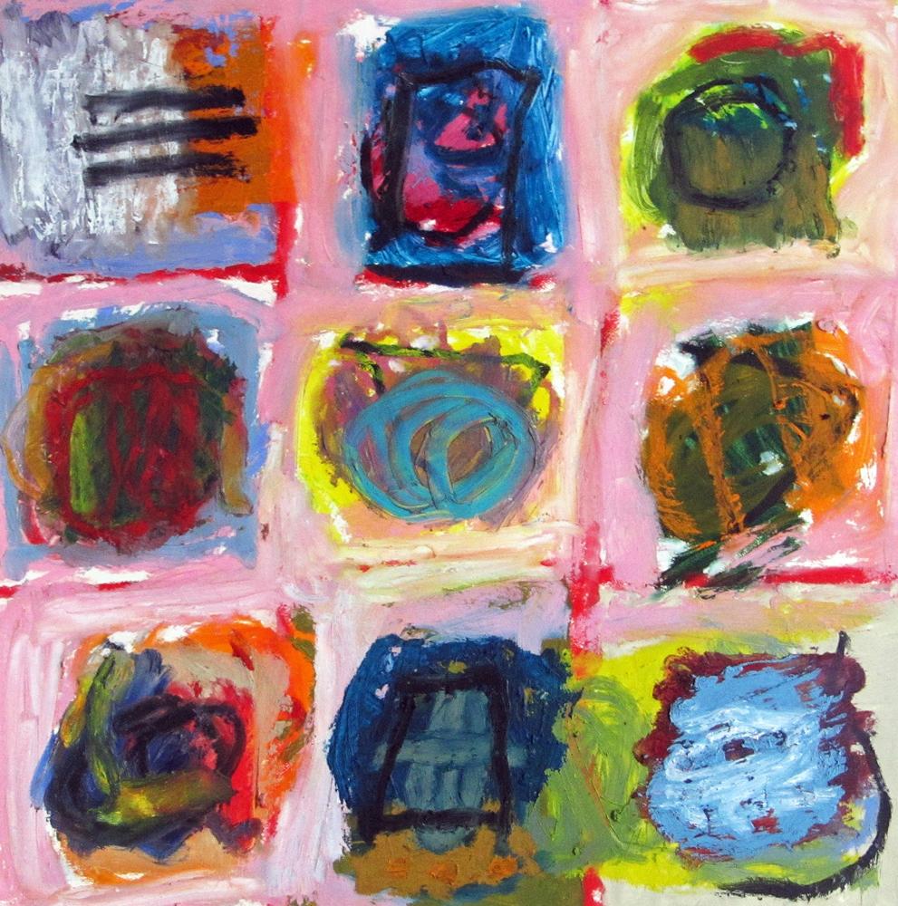 Menu Choices, painting by Carol McGraw