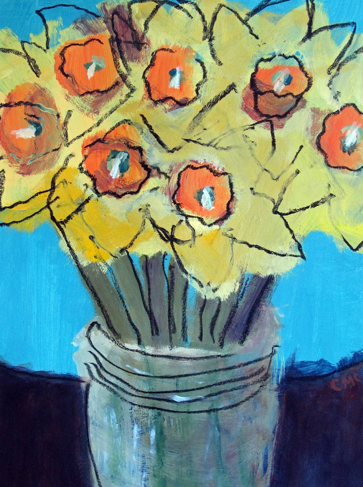 Daffodils, painting by Carol McGraw