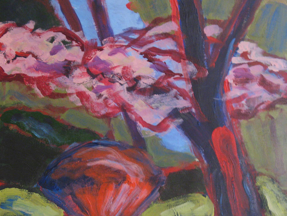 Spring Colors 2, painting by Carol McGraw