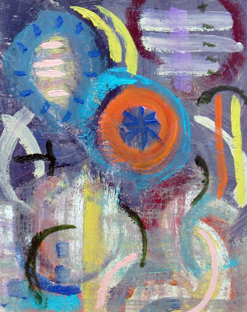 Evening Celebration, painting by Carol McGraw