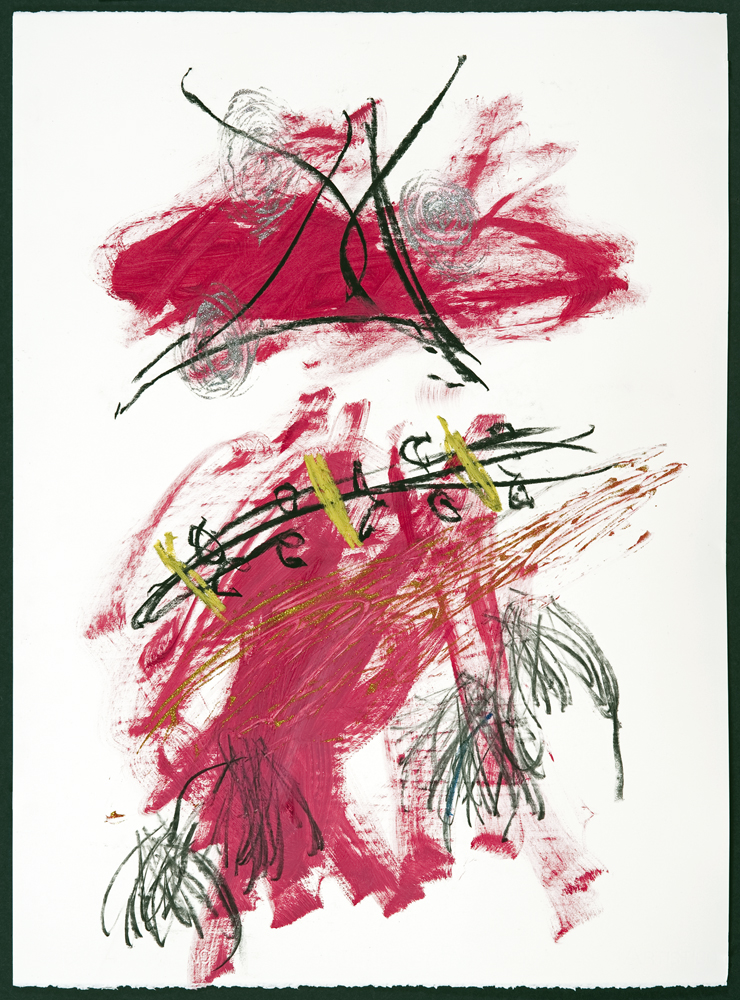 Pink Dancer, painting by Carol McGraw