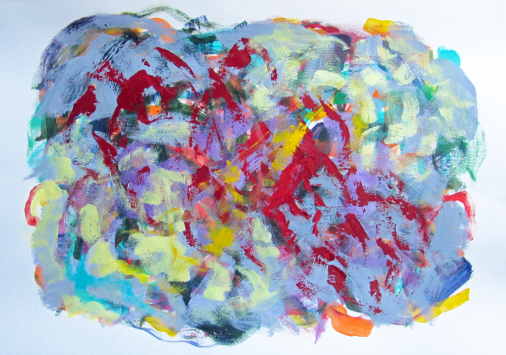 Proof Of A Certain Thought Process, painting by Carol McGraw