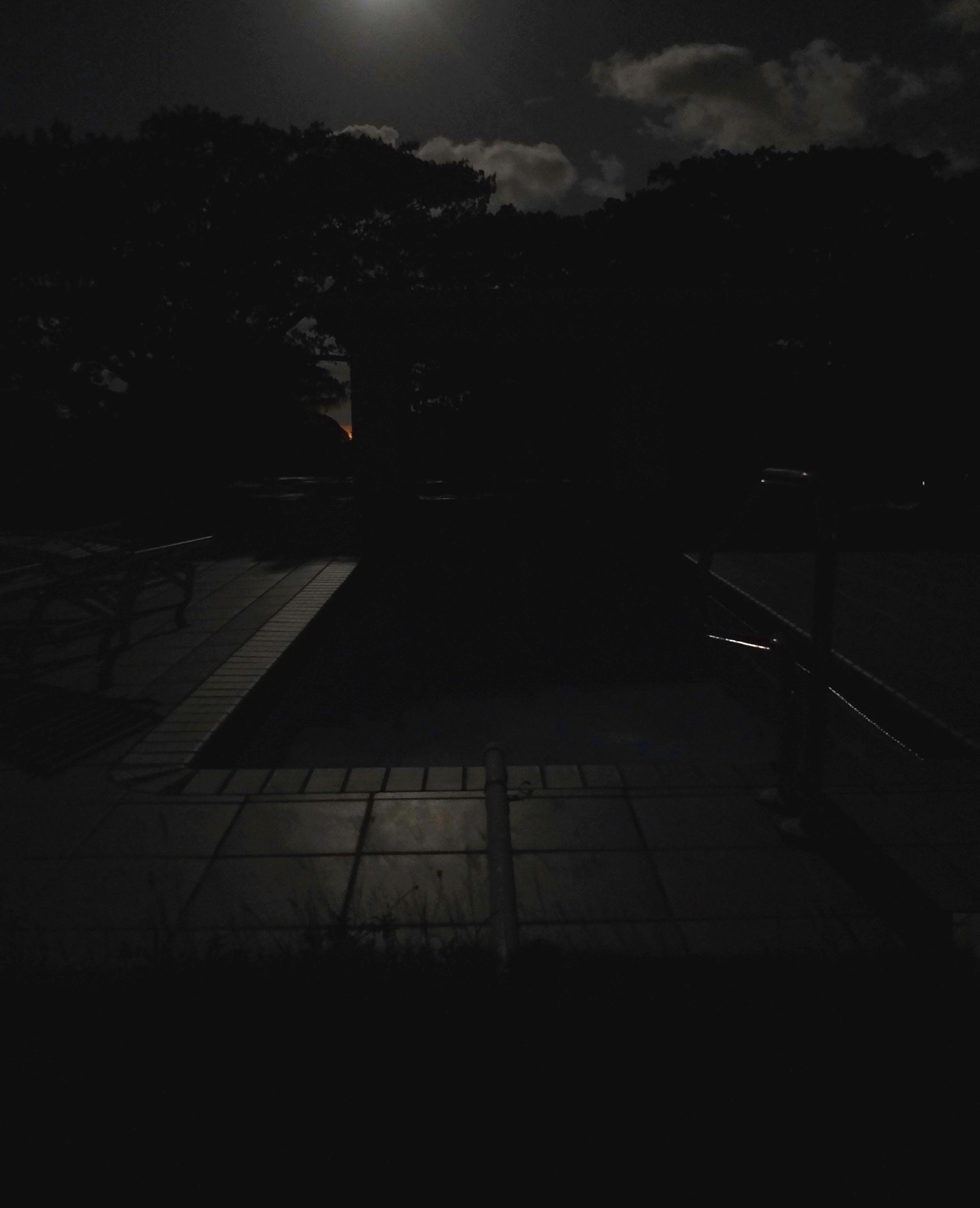"Night Pool, 2015, Archival pigmented print, 20"" x 15"""