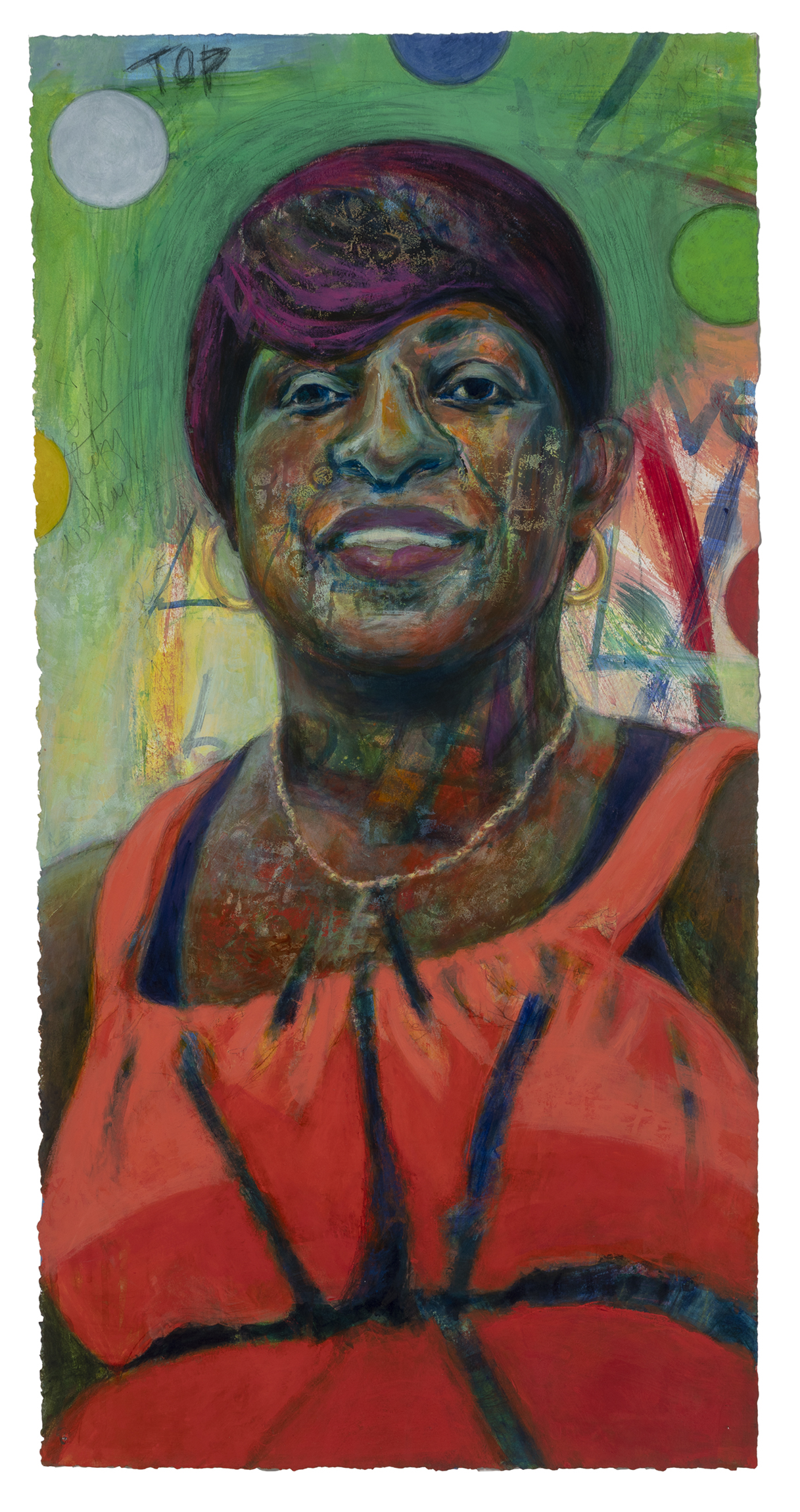 portraits spark conversations, mixed media portraits, real people, paintings, conversations create portraits, painting, five elements, meet Carla, drawing