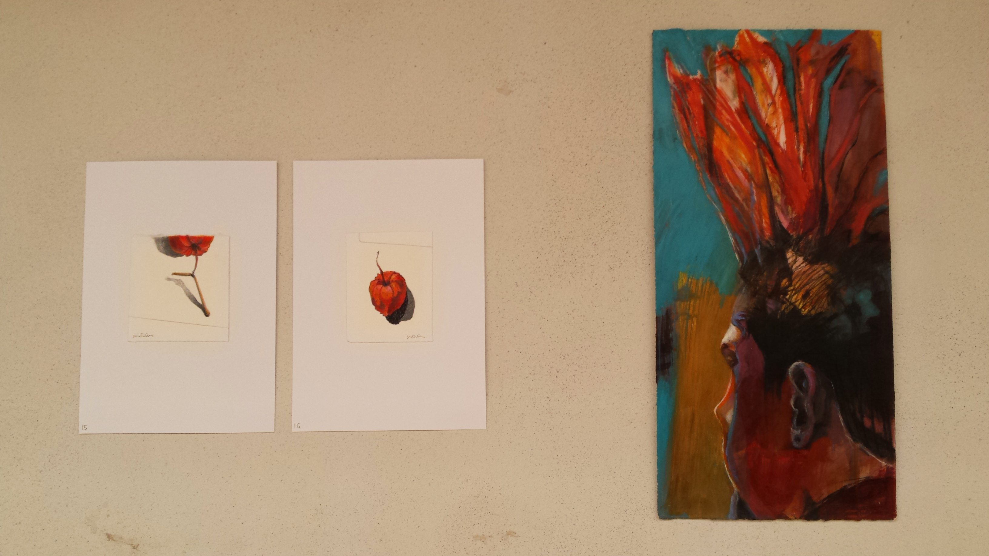 Painting, drawing, portraits, mixed media, nature, ink, light, residency, exhibit
