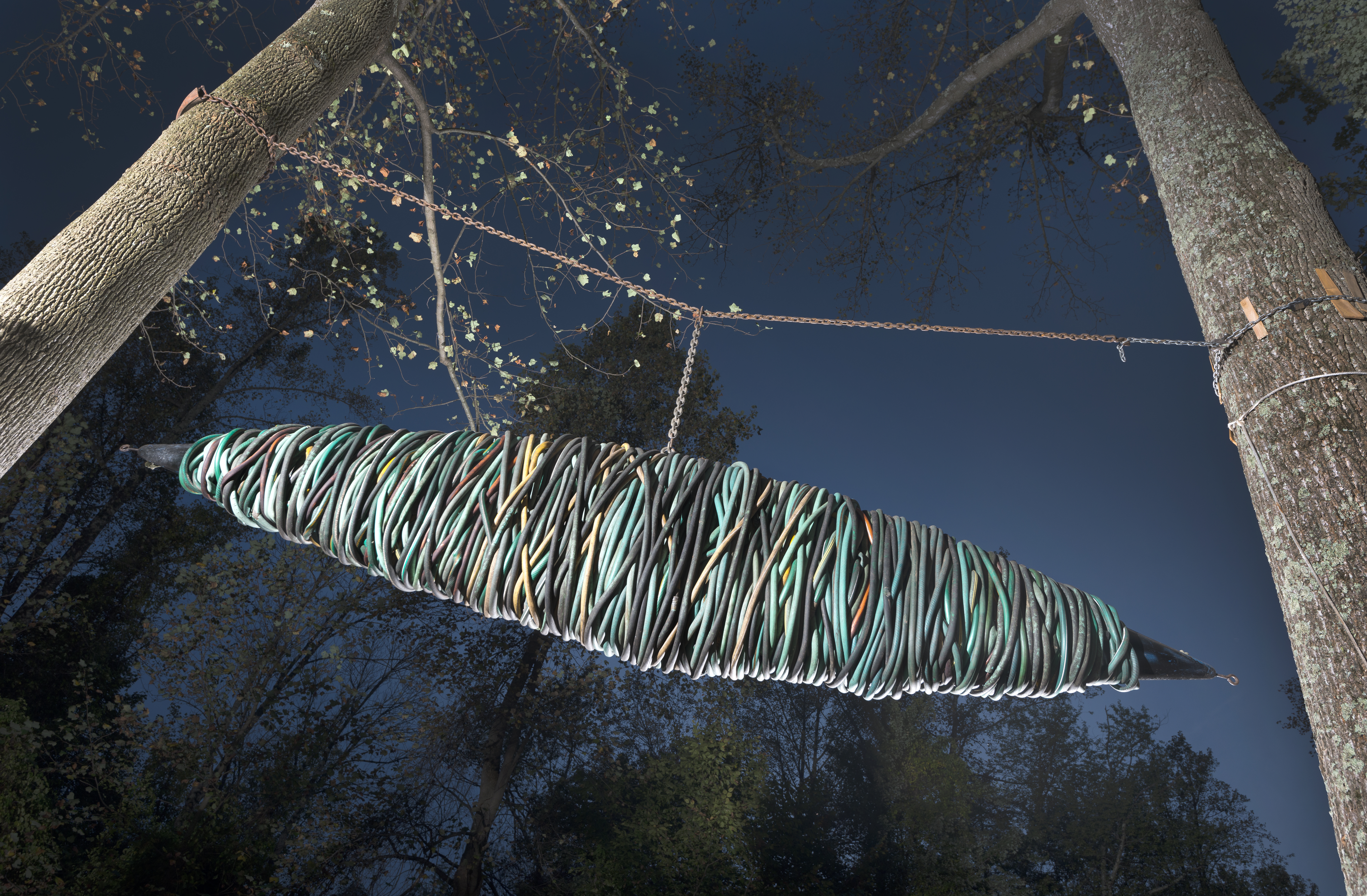 Transformation, water, wars, forest, insects, silk, wrapping, binding, floating