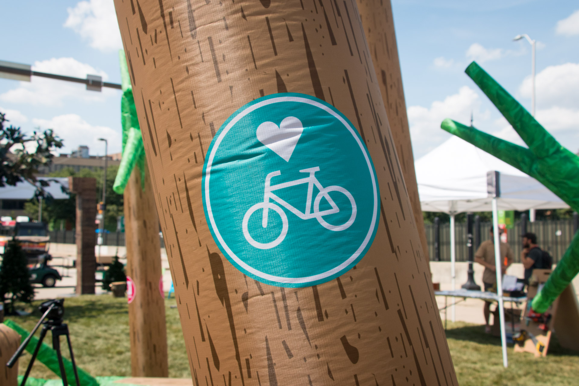 Dancing Forest - Bicycle Love marker