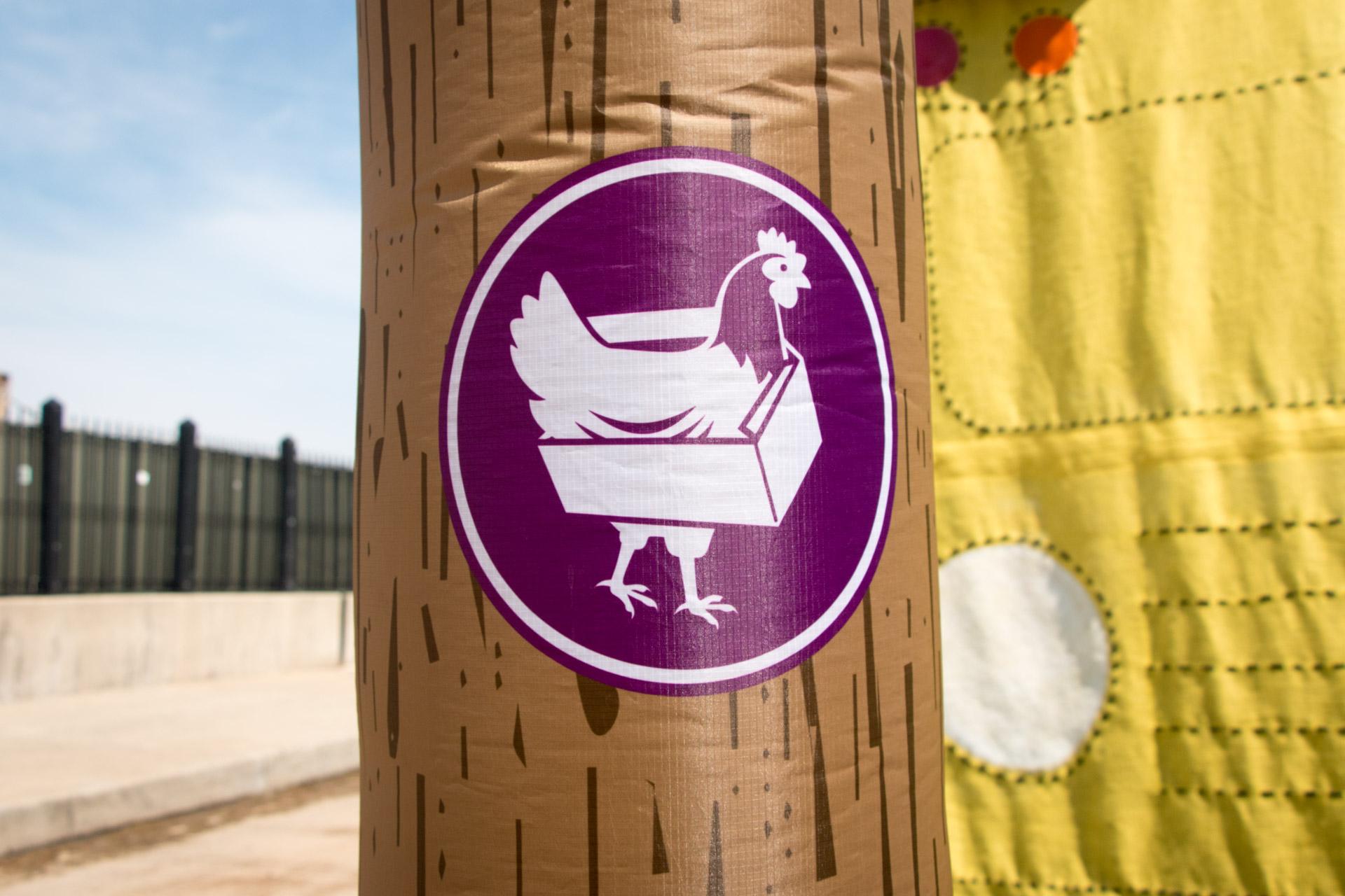 Dancing Forest - Chicken Box marker