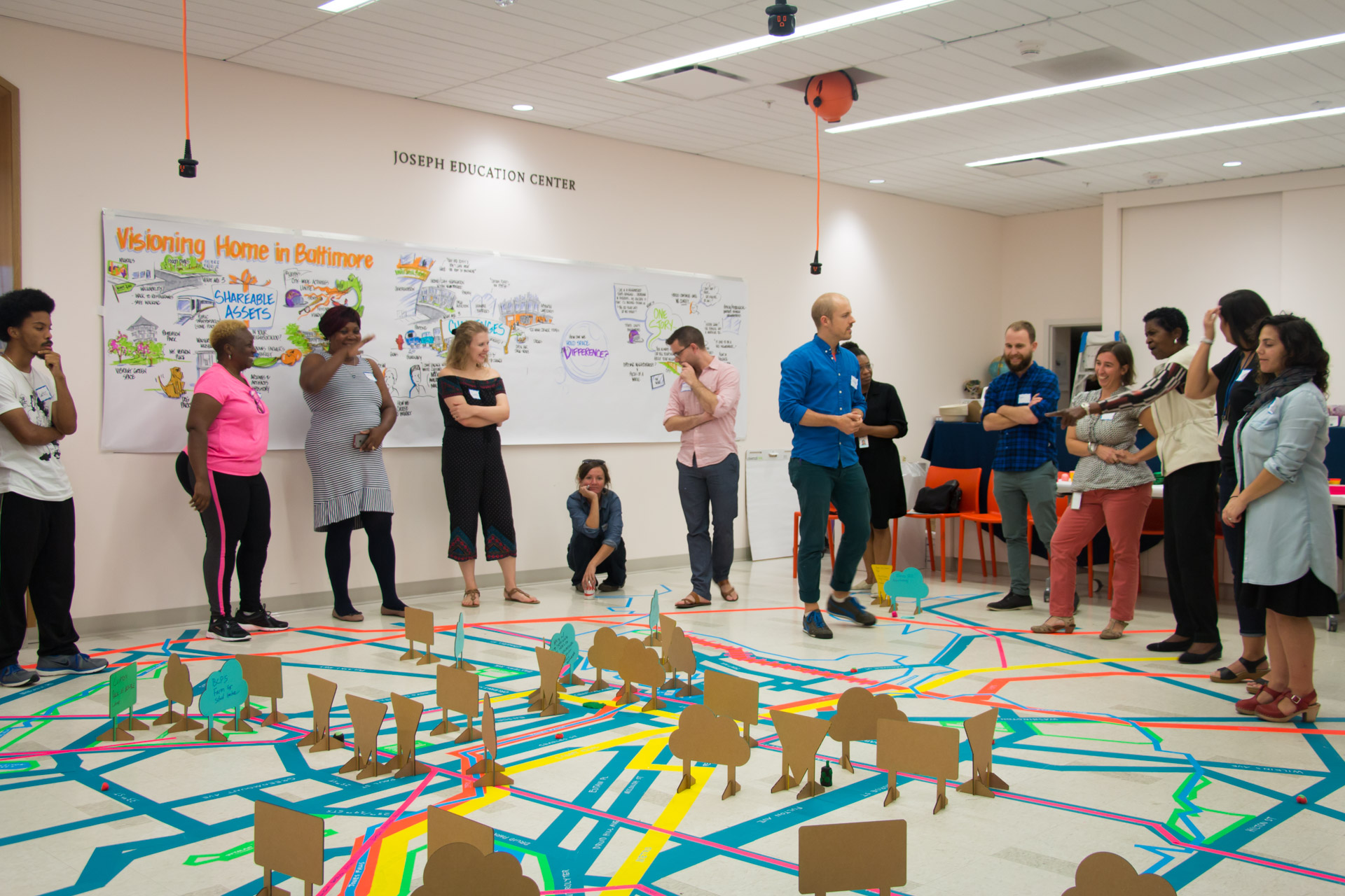 Visioning Home Mapping - group discussion