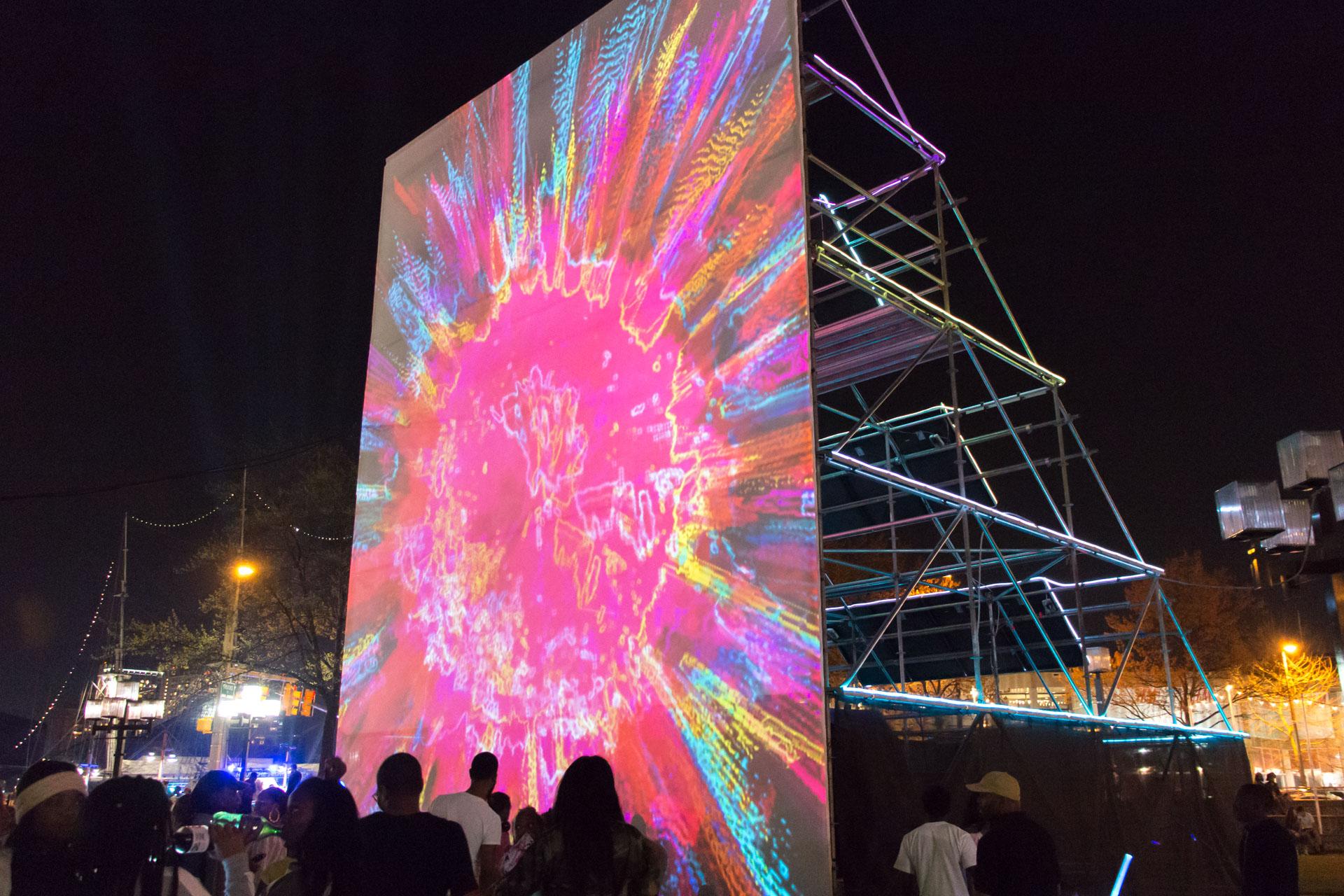 Sun Stomp - projection